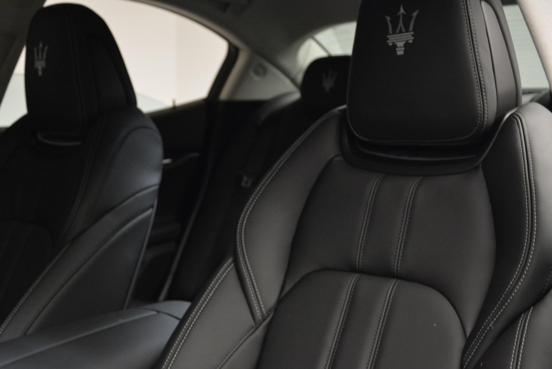New 2018 Maserati Ghibli S Q4 Gransport For Sale In Greenwich, CT 1934_p11