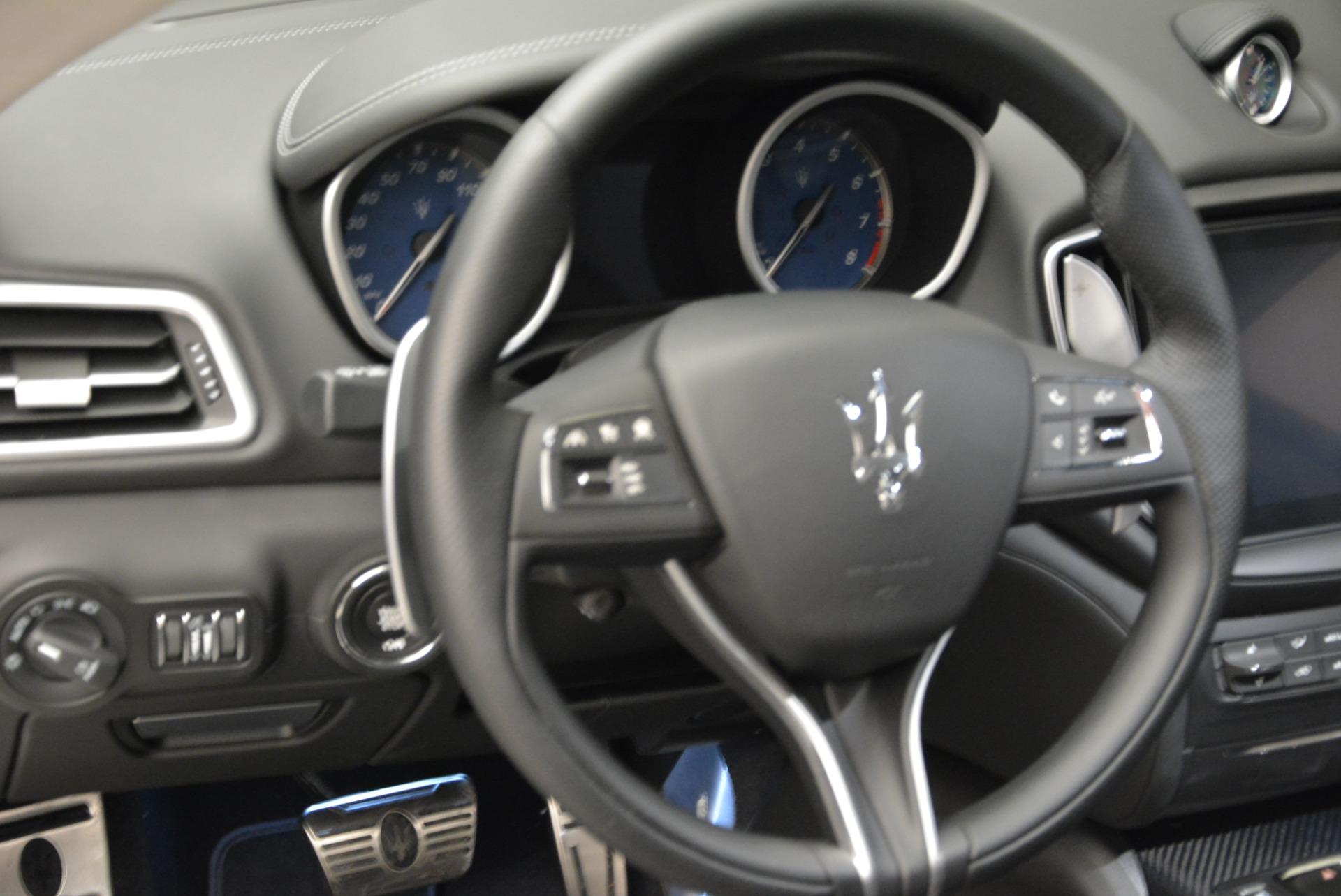 New 2018 Maserati Ghibli S Q4 Gransport For Sale In Greenwich, CT 1934_p14