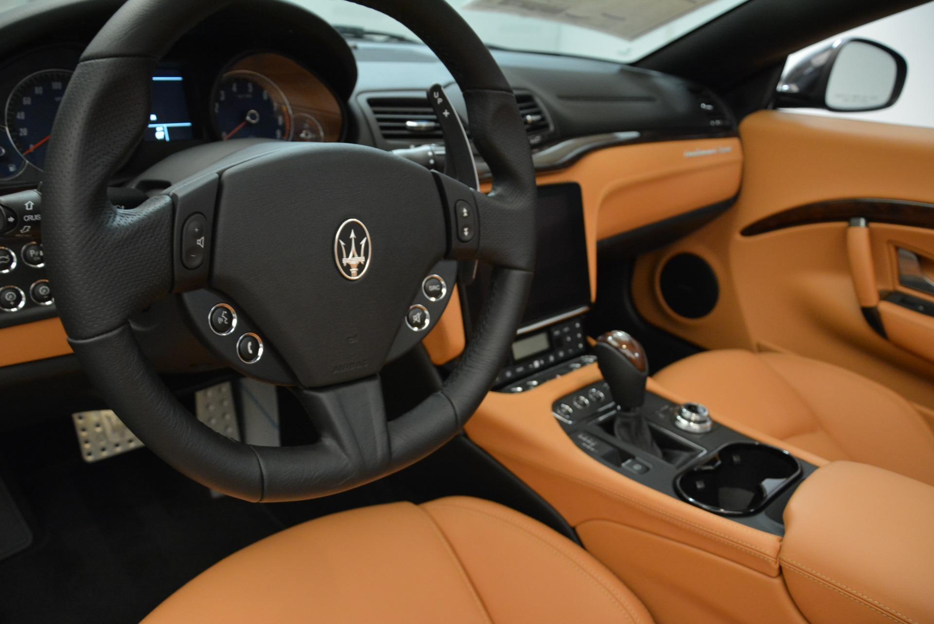 New 2018 Maserati GranTurismo Sport Convertible For Sale In Greenwich, CT 1942_p29