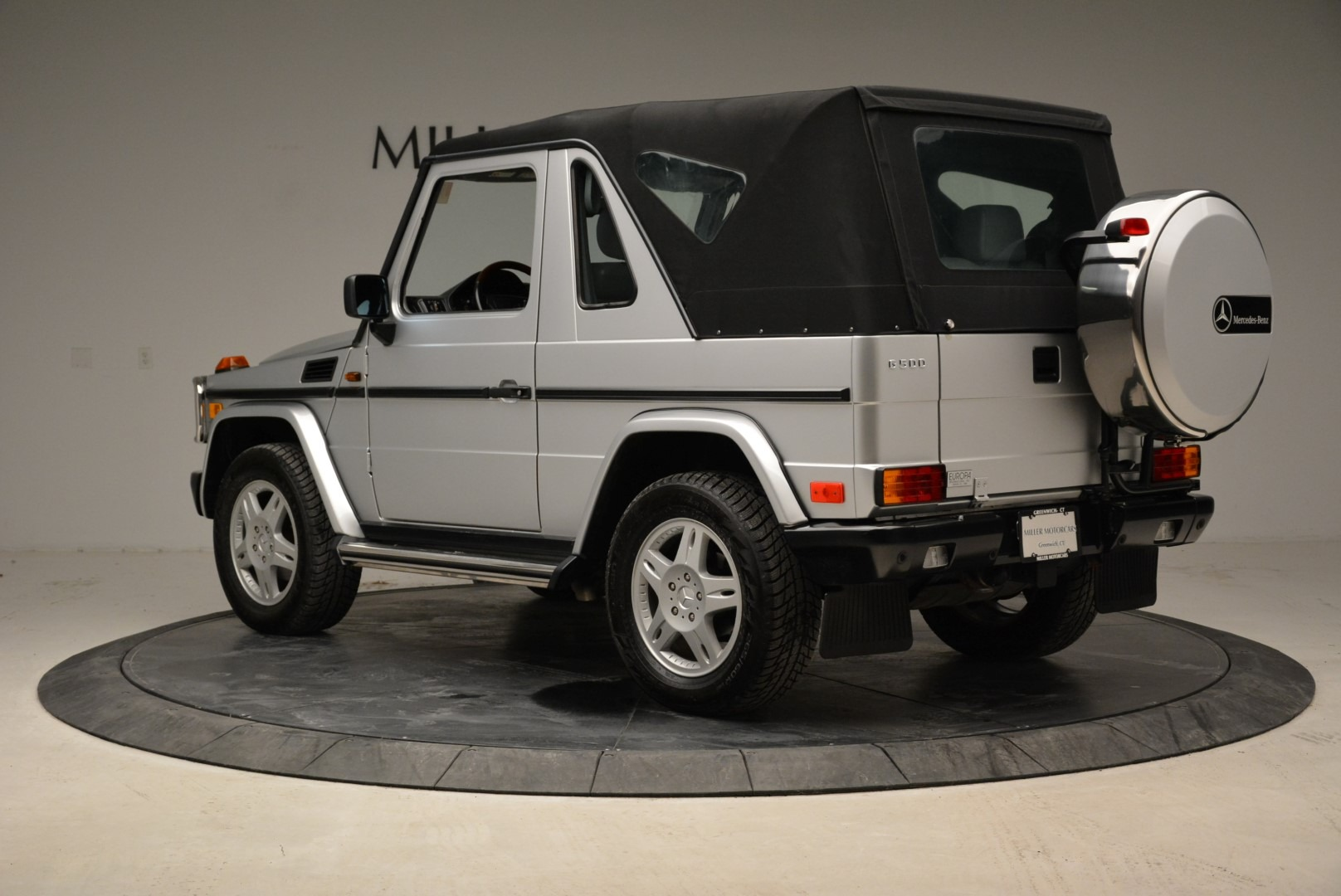 Used 1999 Mercedes Benz G500 Cabriolet For Sale In Greenwich, CT 1961_p15