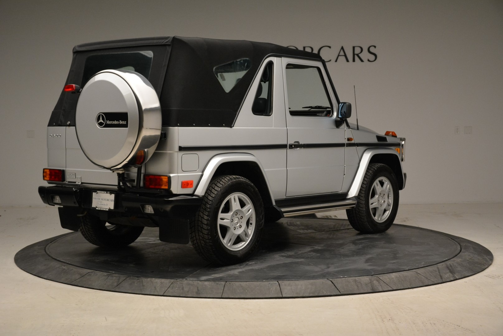 Used 1999 Mercedes Benz G500 Cabriolet For Sale In Greenwich, CT 1961_p17