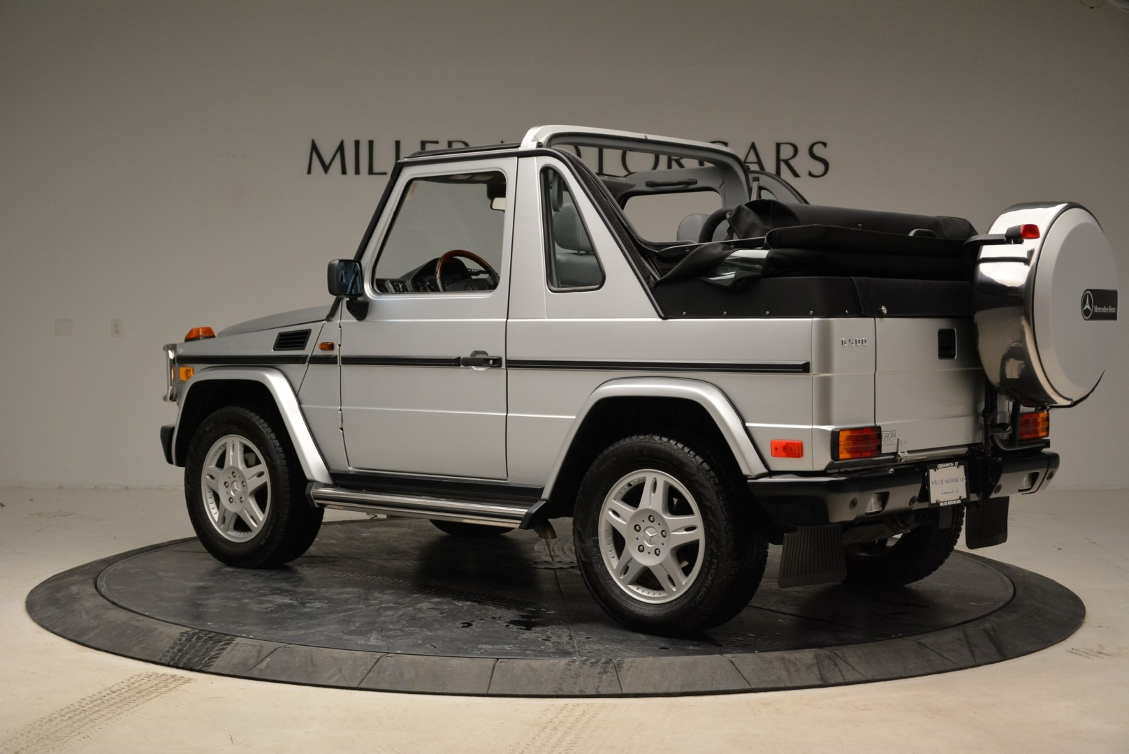 Used 1999 Mercedes Benz G500 Cabriolet For Sale In Greenwich, CT 1961_p4