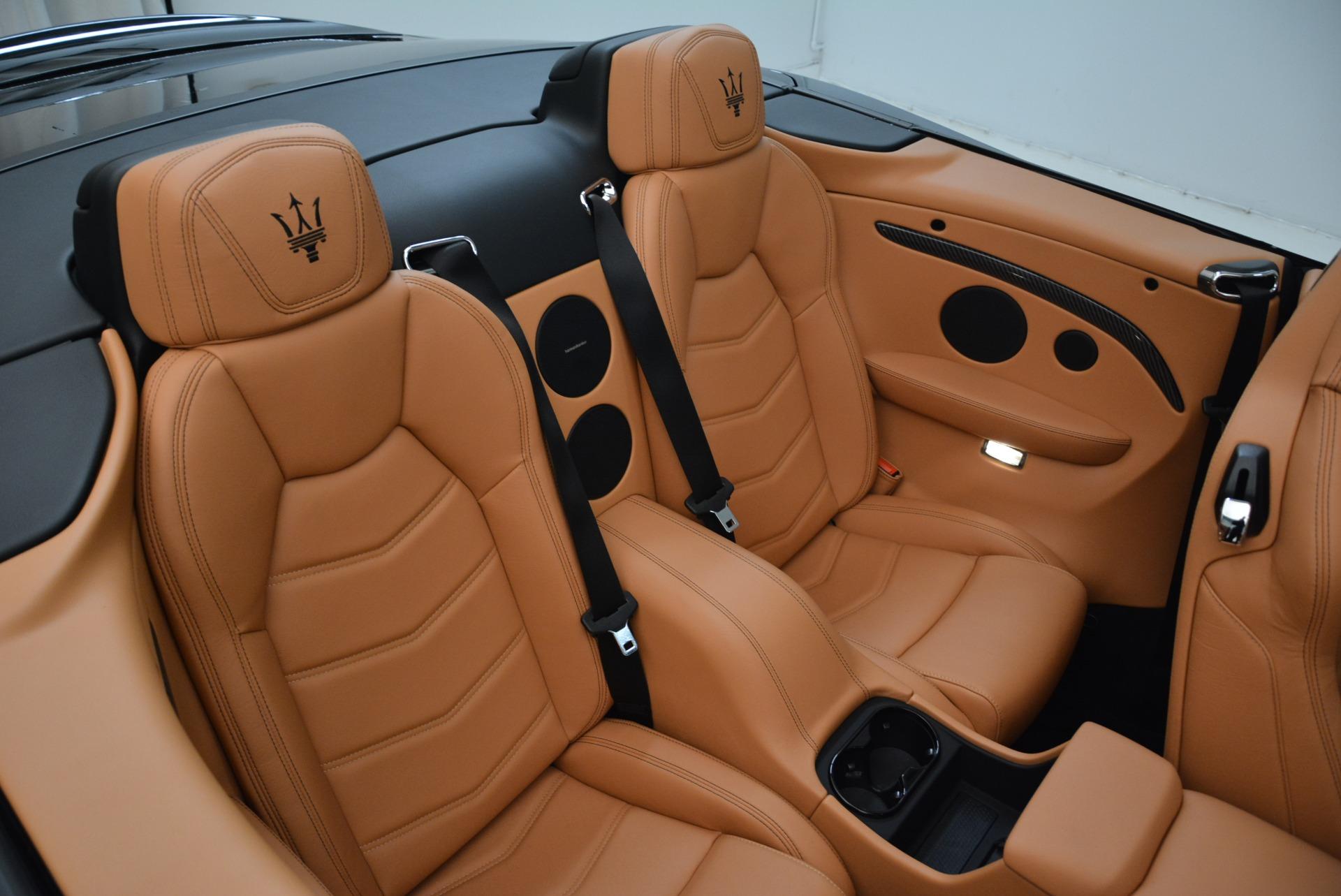 New 2018 Maserati GranTurismo MC Convertible For Sale In Greenwich, CT 1973_p35