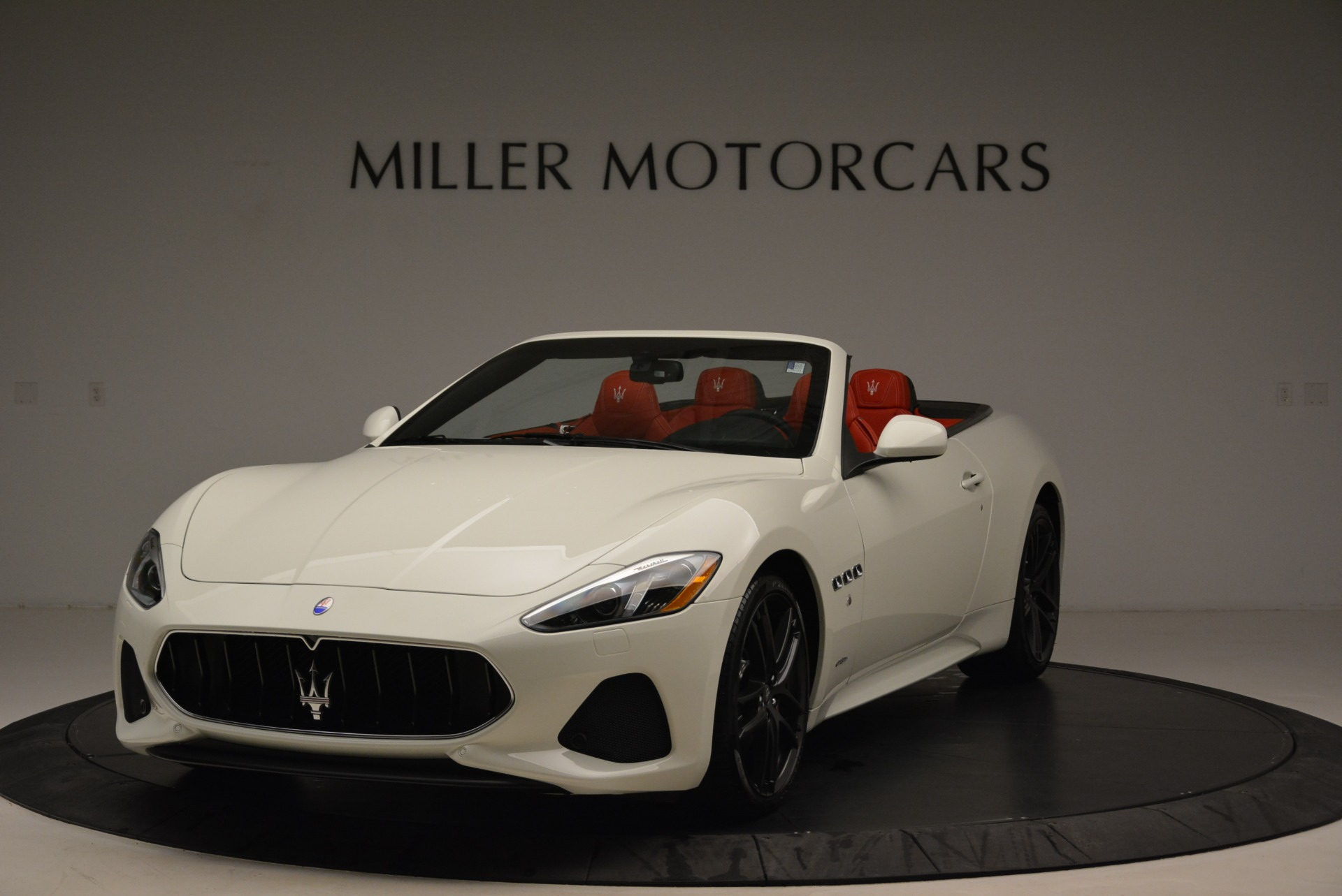 New 2018 Maserati GranTurismo Sport Convertible For Sale In Greenwich, CT 1979_main