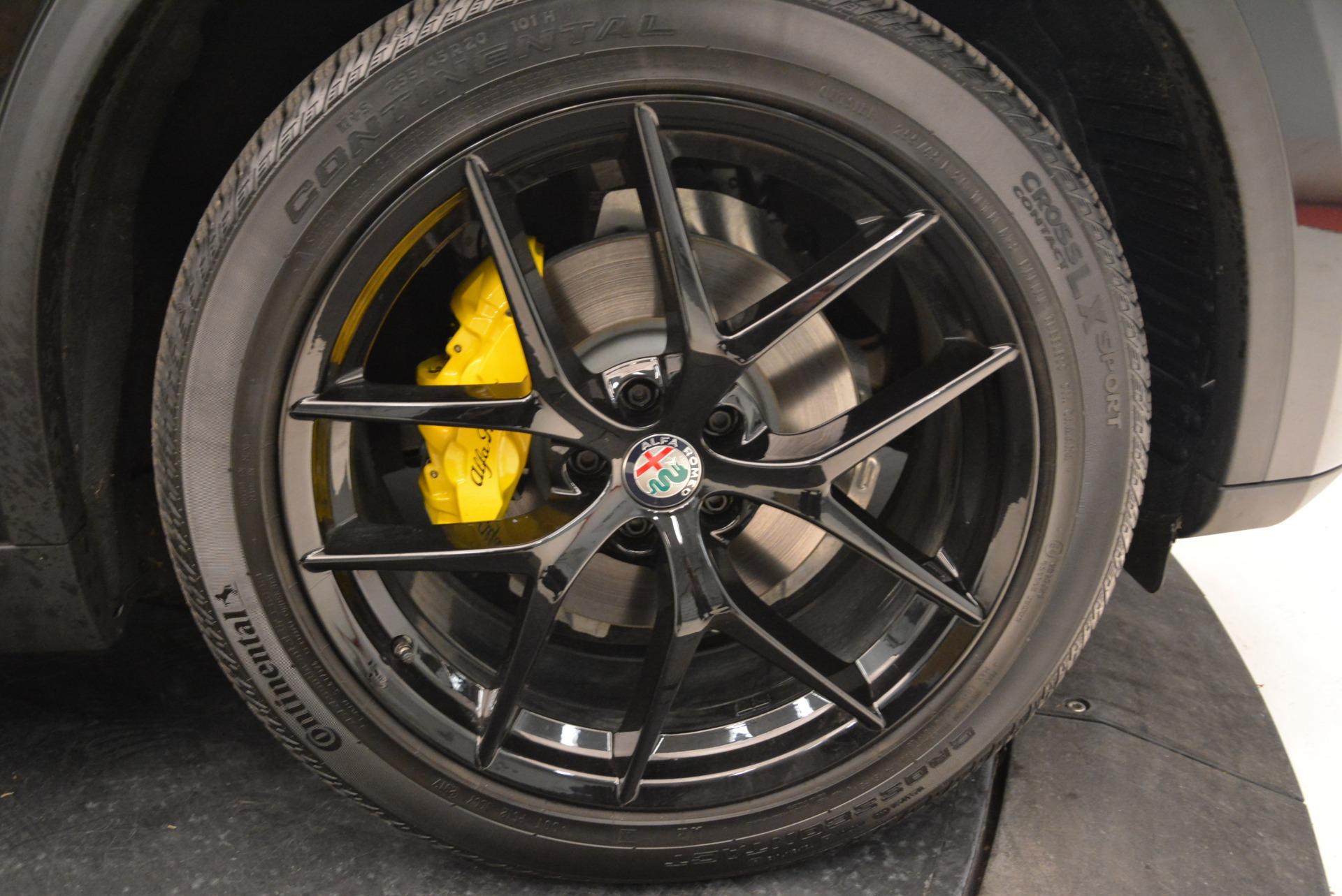 New 2018 Alfa Romeo Stelvio Ti Sport Q4 For Sale In Greenwich, CT 2002_p25