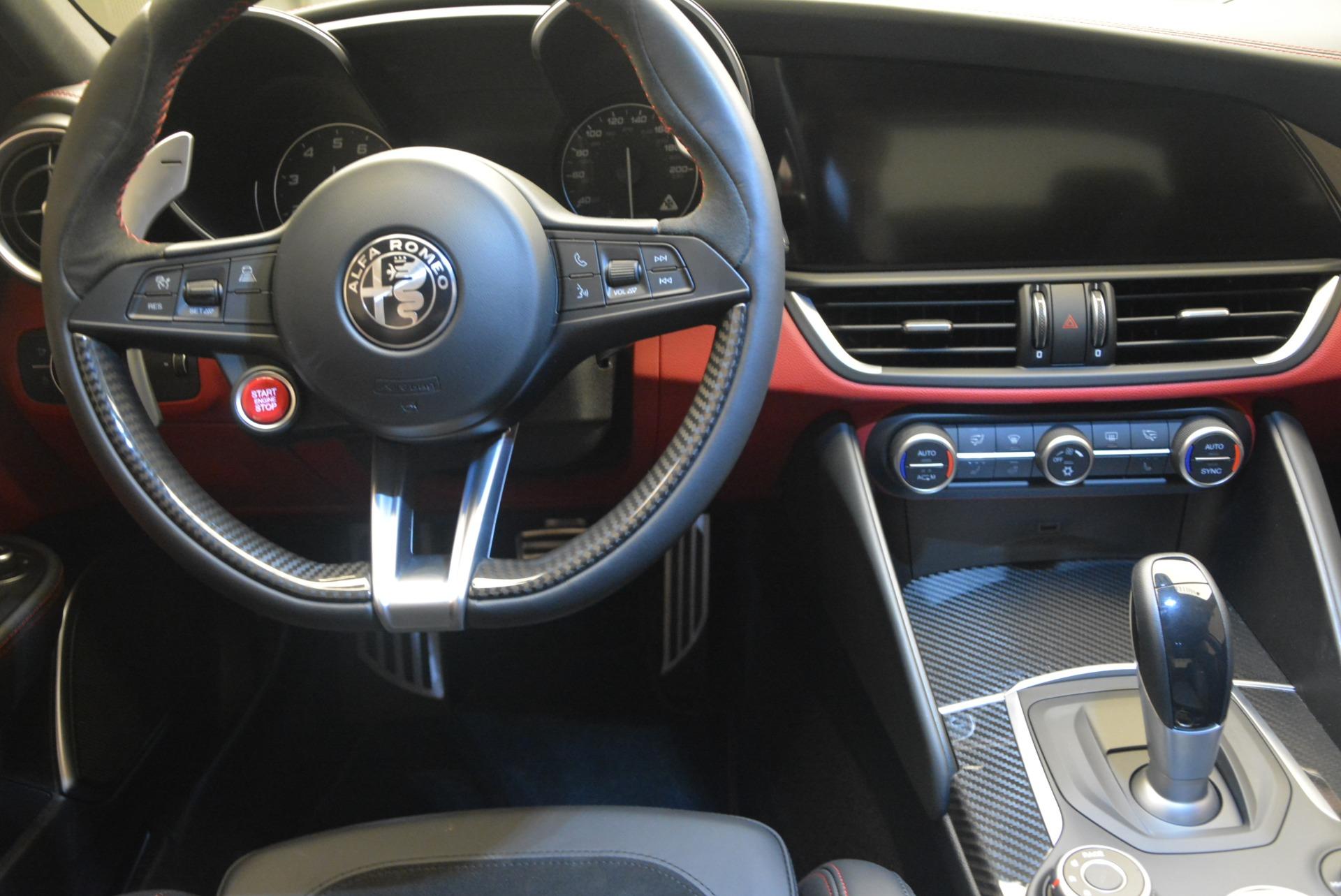 New 2018 Alfa Romeo Giulia Quadrifoglio For Sale In Greenwich, CT 2024_p20
