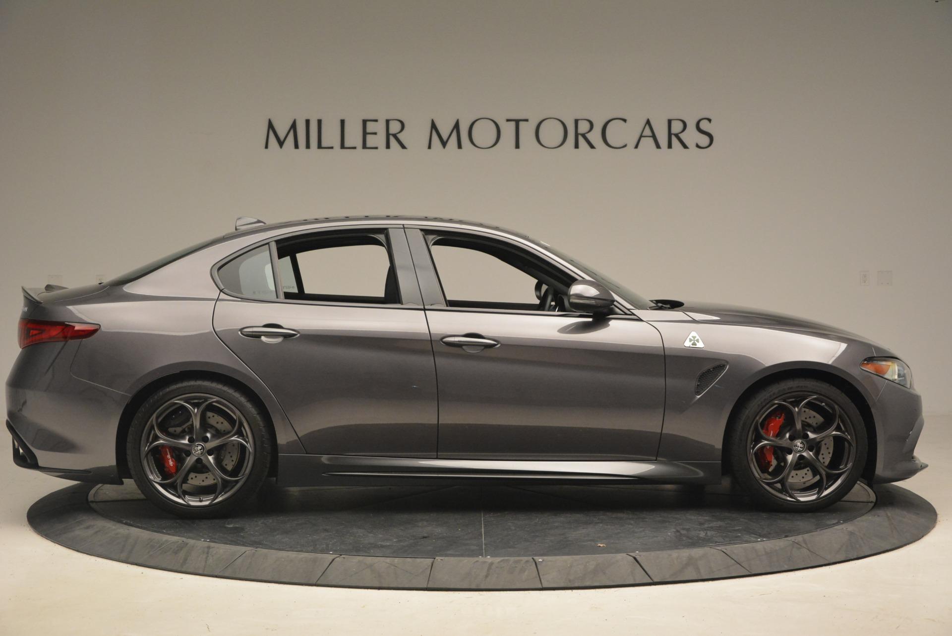 New 2018 Alfa Romeo Giulia Quadrifoglio For Sale In Greenwich, CT 2024_p9