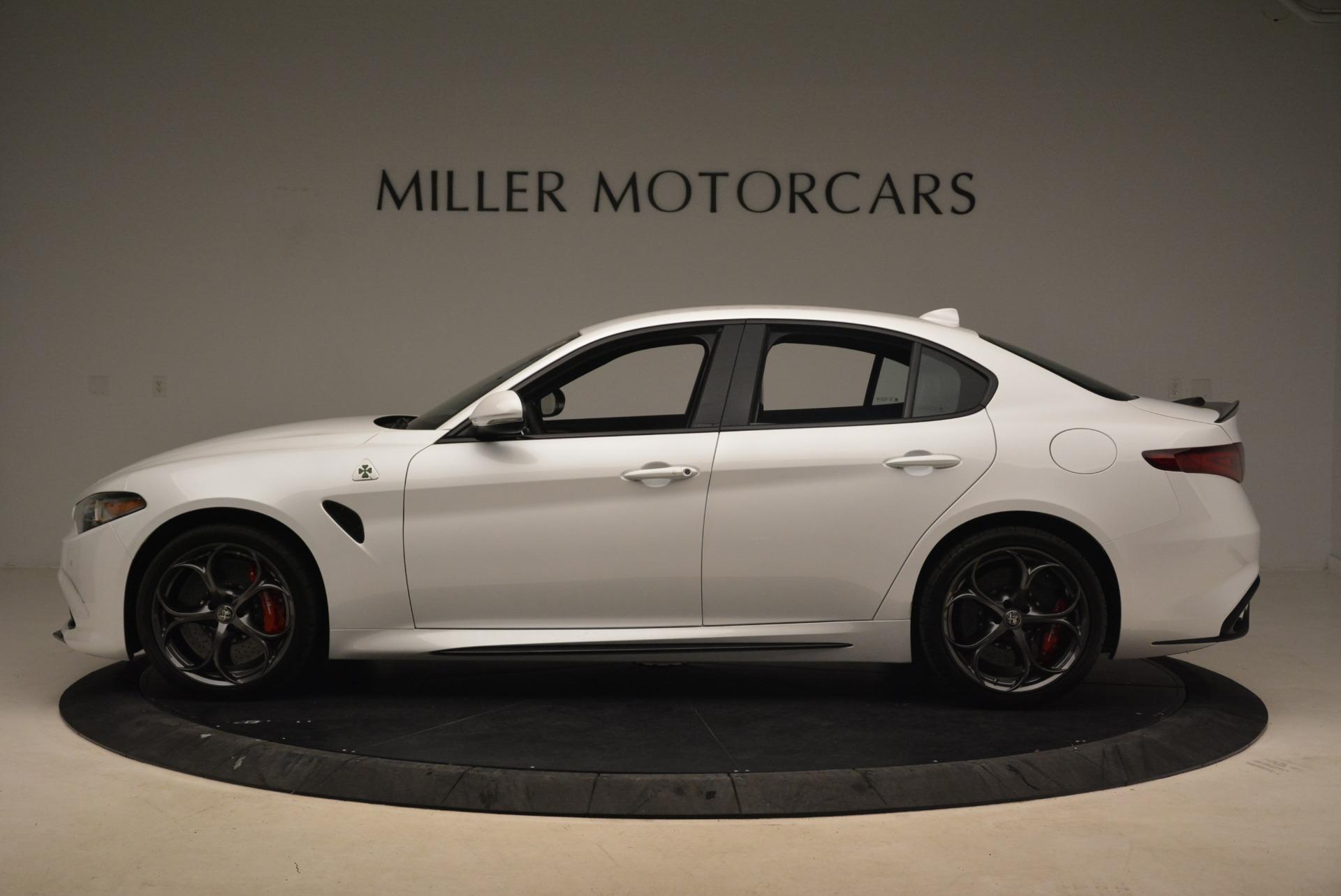 New 2018 Alfa Romeo Giulia Quadrifoglio For Sale In Greenwich, CT 2035_p3