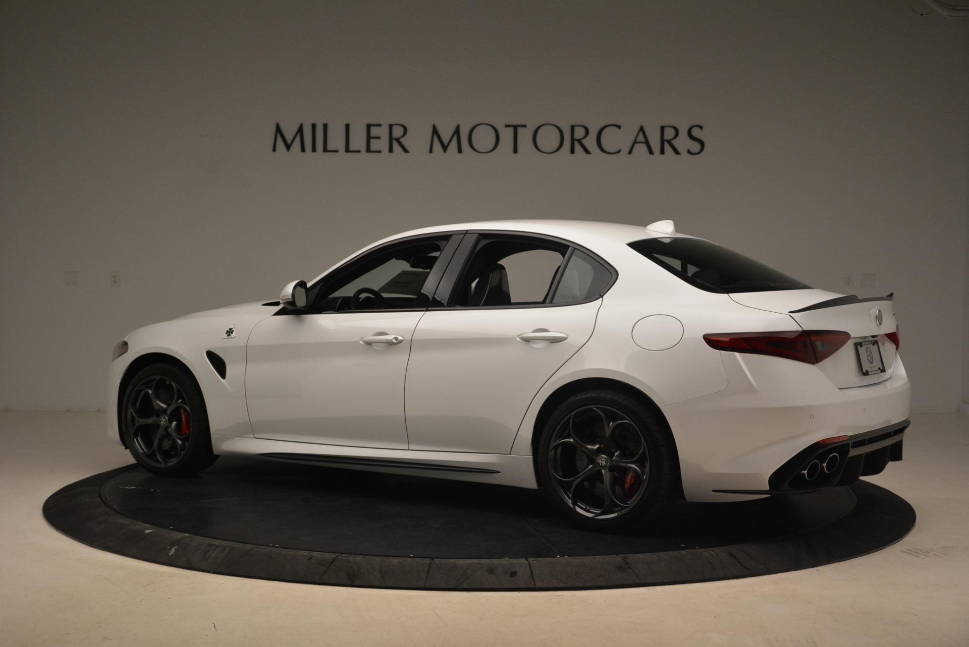 New 2018 Alfa Romeo Giulia Quadrifoglio For Sale In Greenwich, CT 2035_p4