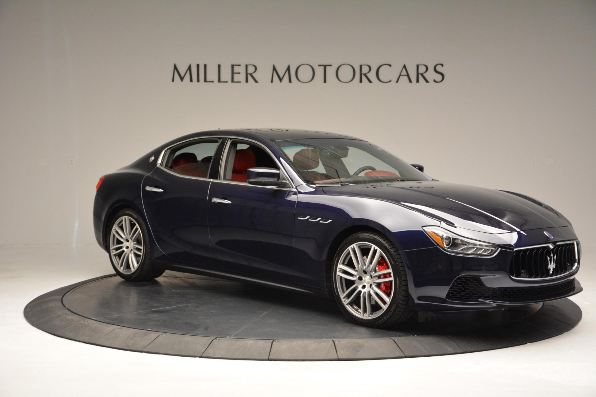 New 2016 Maserati Ghibli S Q4 For Sale In Greenwich, CT 204_p11