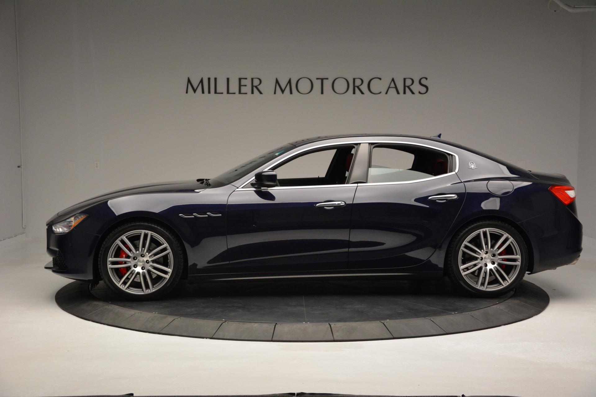 New 2016 Maserati Ghibli S Q4 For Sale In Greenwich, CT 204_p3