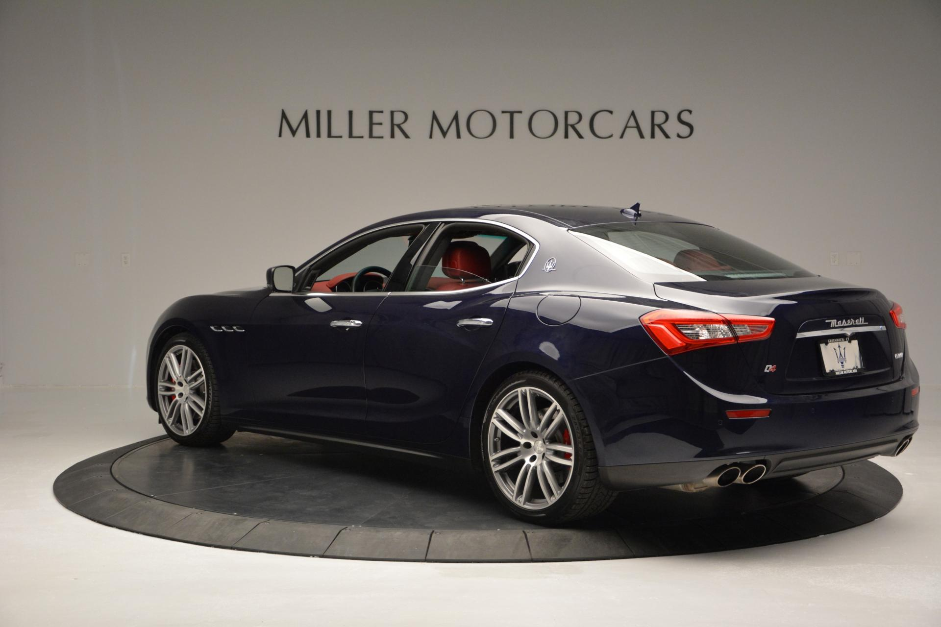 New 2016 Maserati Ghibli S Q4 For Sale In Greenwich, CT 204_p5