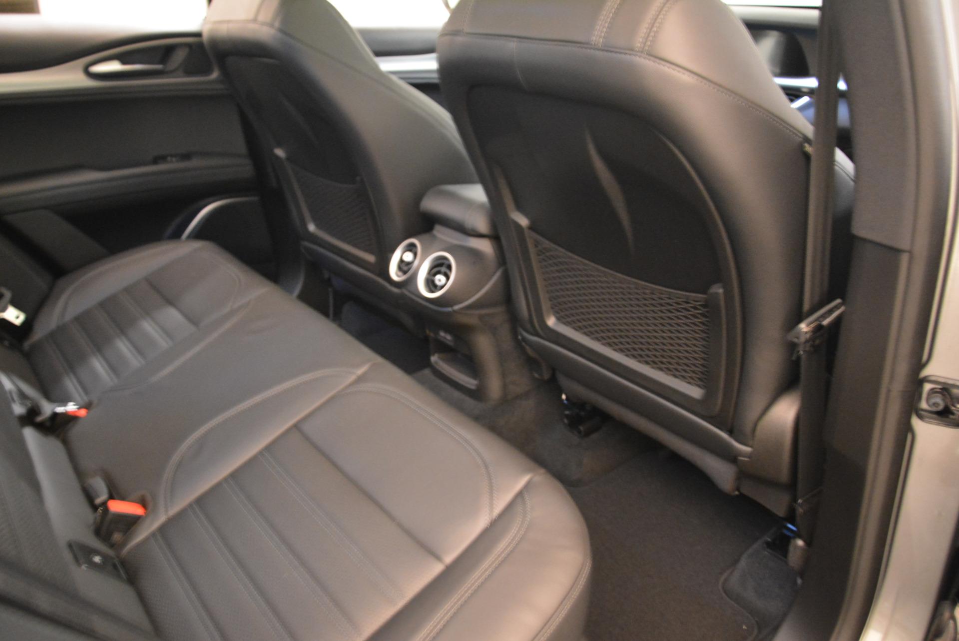 New 2018 Alfa Romeo Stelvio Ti Sport Q4 For Sale In Greenwich, CT 2040_p22