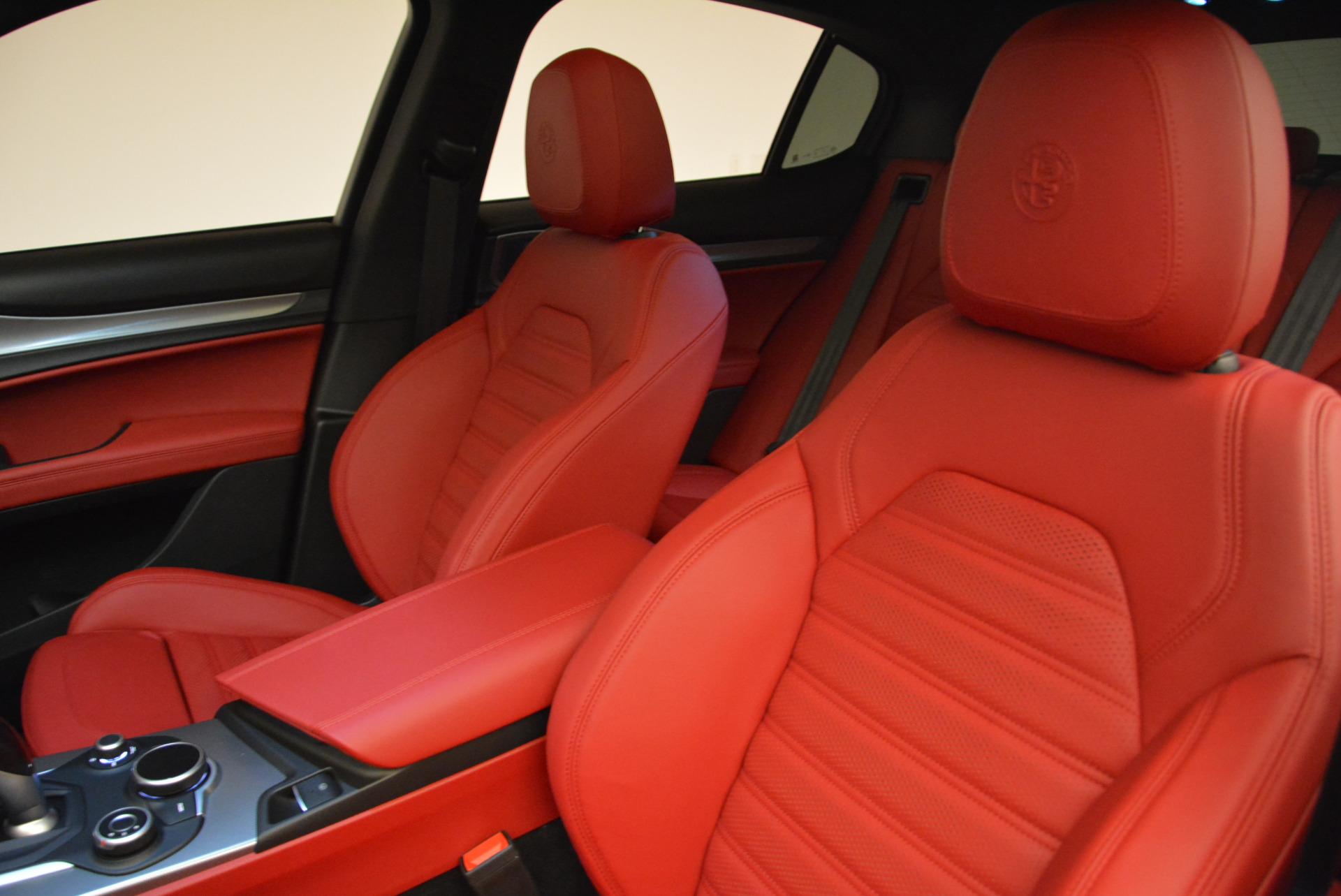 New 2018 Alfa Romeo Stelvio Ti Sport Q4 For Sale In Greenwich, CT 2041_p15