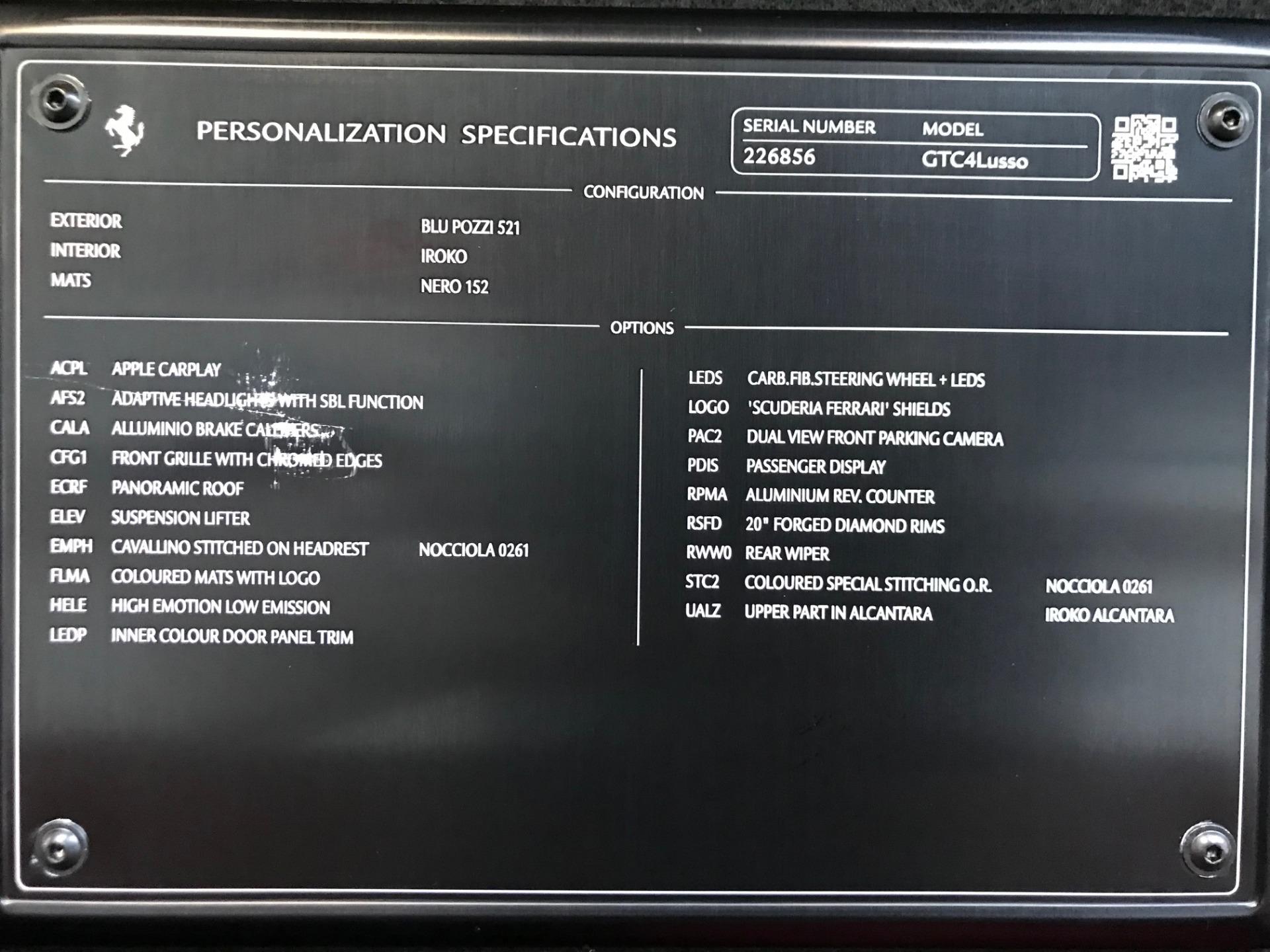 Used 2017 Ferrari GTC4Lusso  For Sale In Greenwich, CT 2047_p24