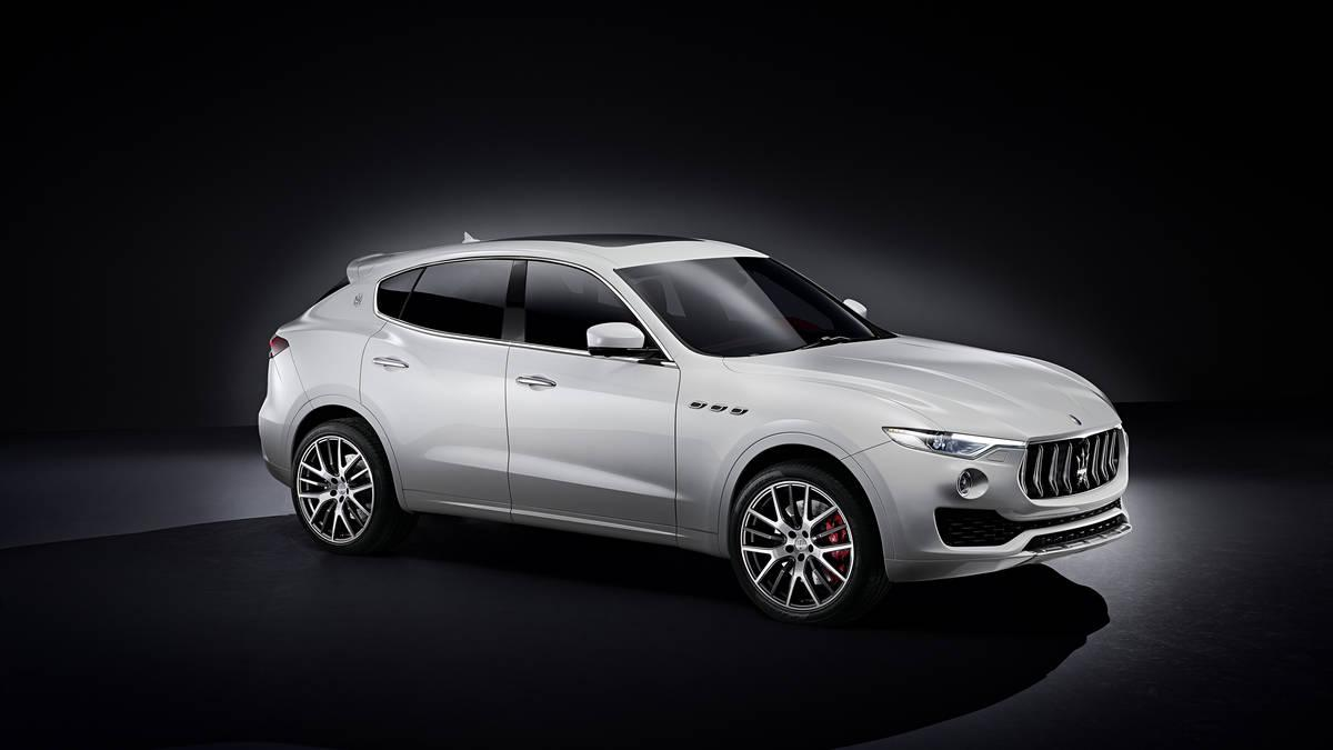 New 2017 Maserati Levante  For Sale In Greenwich, CT 205_p3