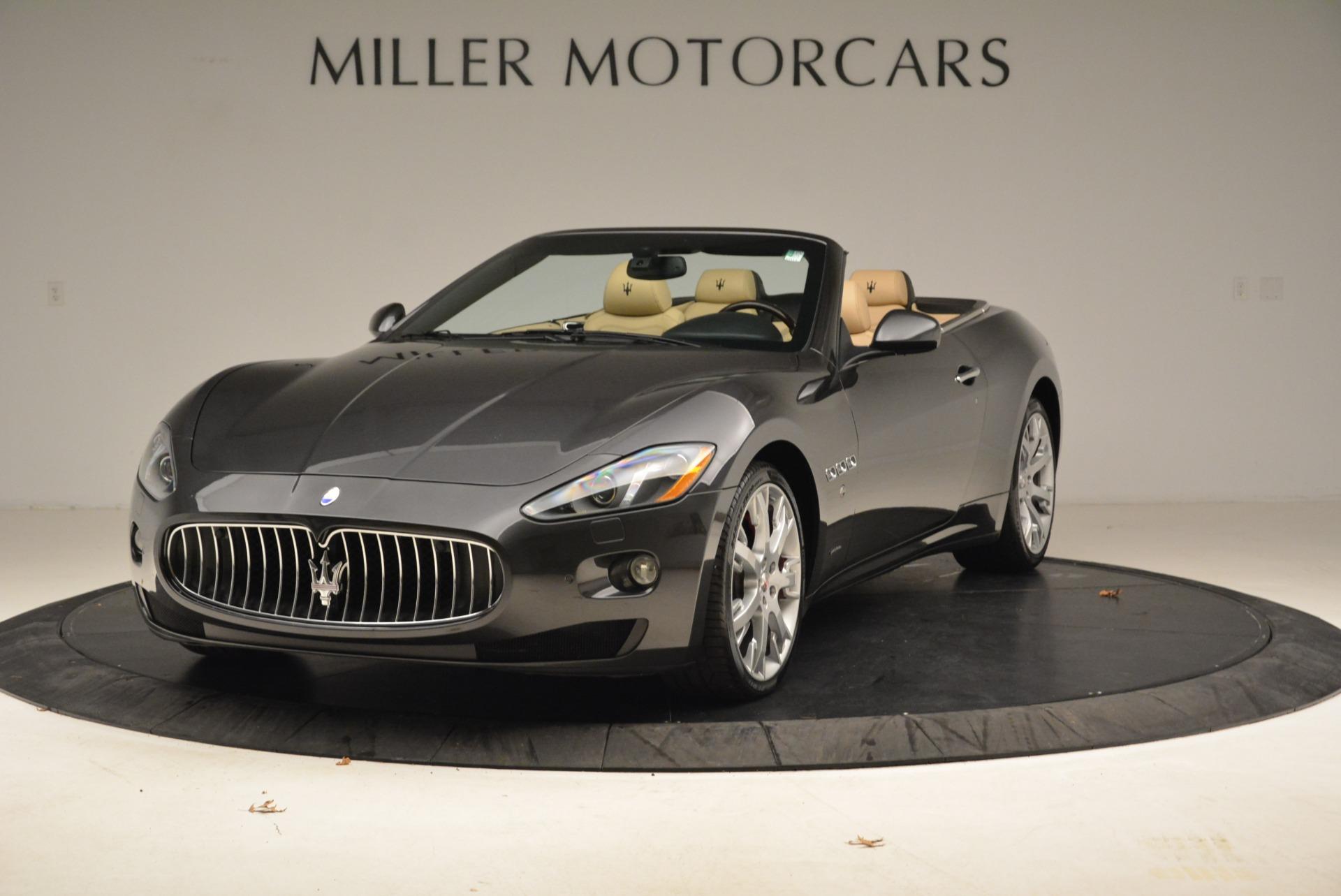 Used 2013 Maserati GranTurismo Convertible  For Sale In Greenwich, CT 2050_main
