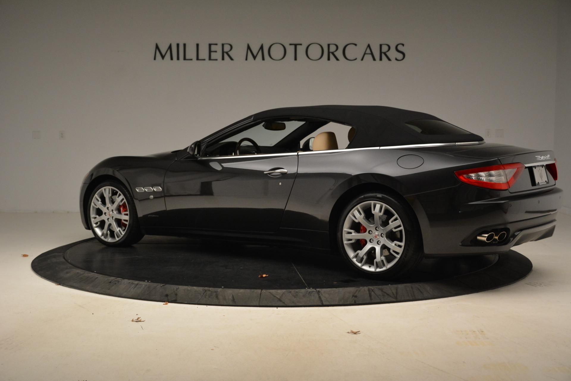 Used 2013 Maserati GranTurismo Convertible  For Sale In Greenwich, CT 2050_p16
