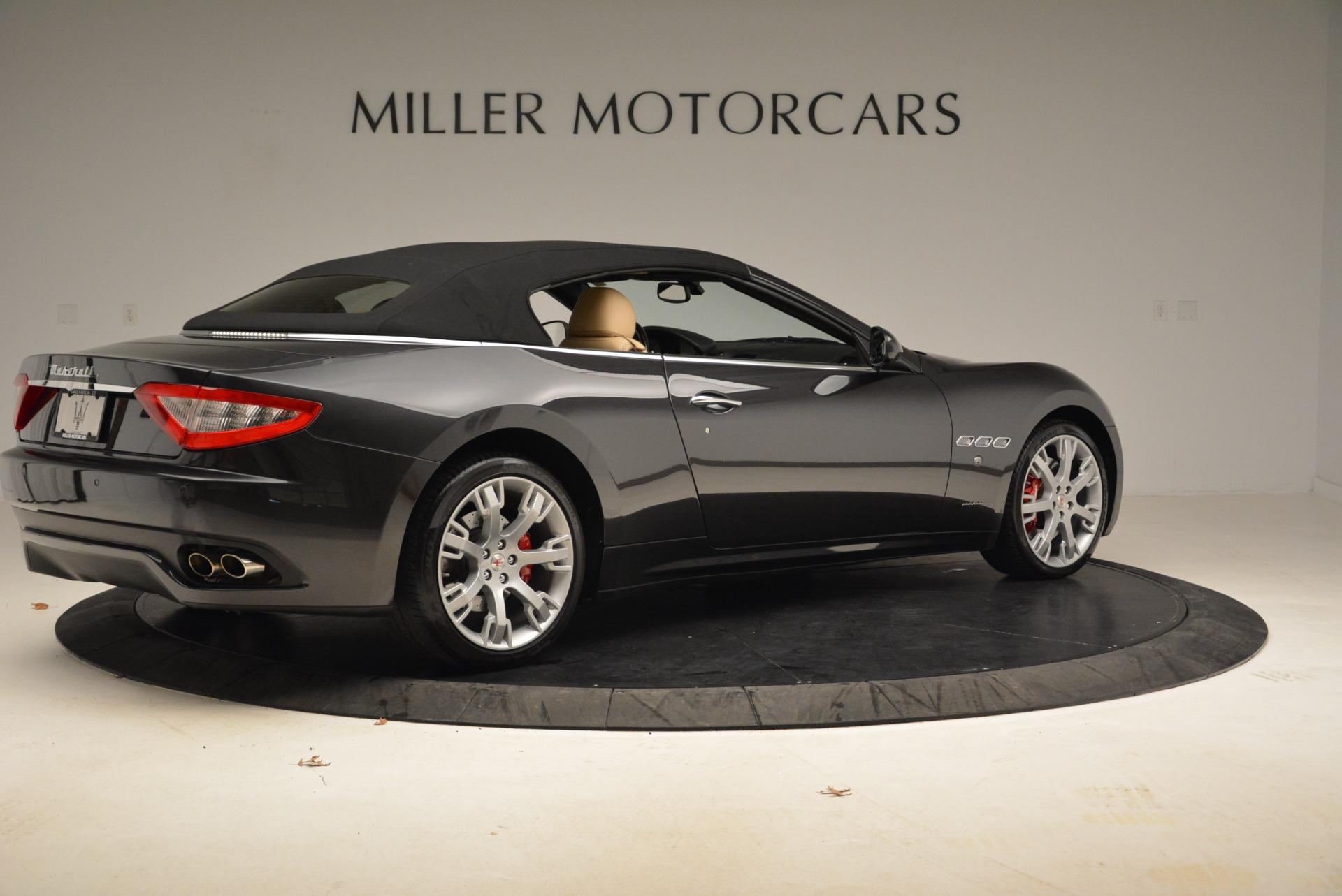 Used 2013 Maserati GranTurismo Convertible  For Sale In Greenwich, CT 2050_p20