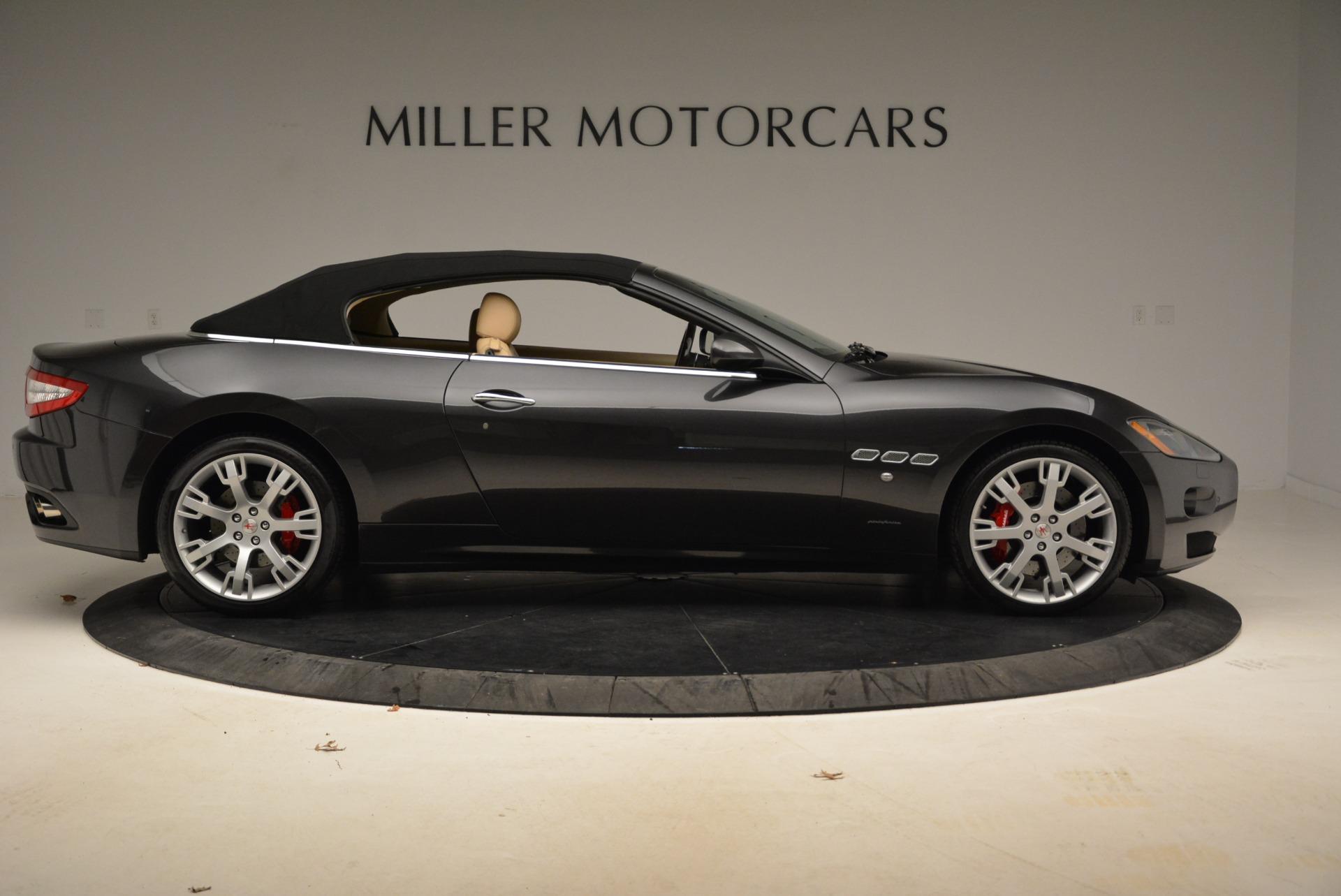 Used 2013 Maserati GranTurismo Convertible  For Sale In Greenwich, CT 2050_p21