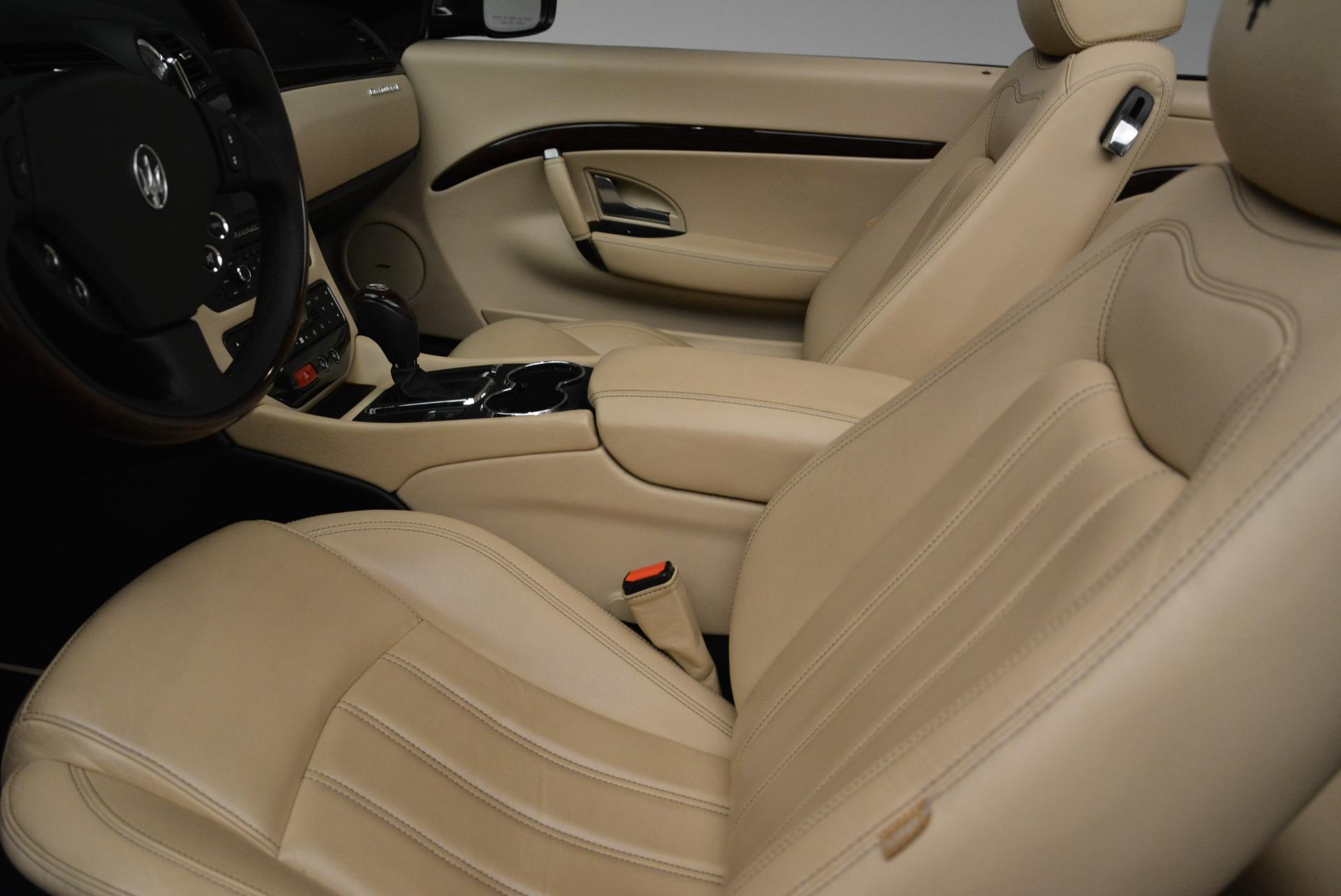 Used 2013 Maserati GranTurismo Convertible  For Sale In Greenwich, CT 2050_p26