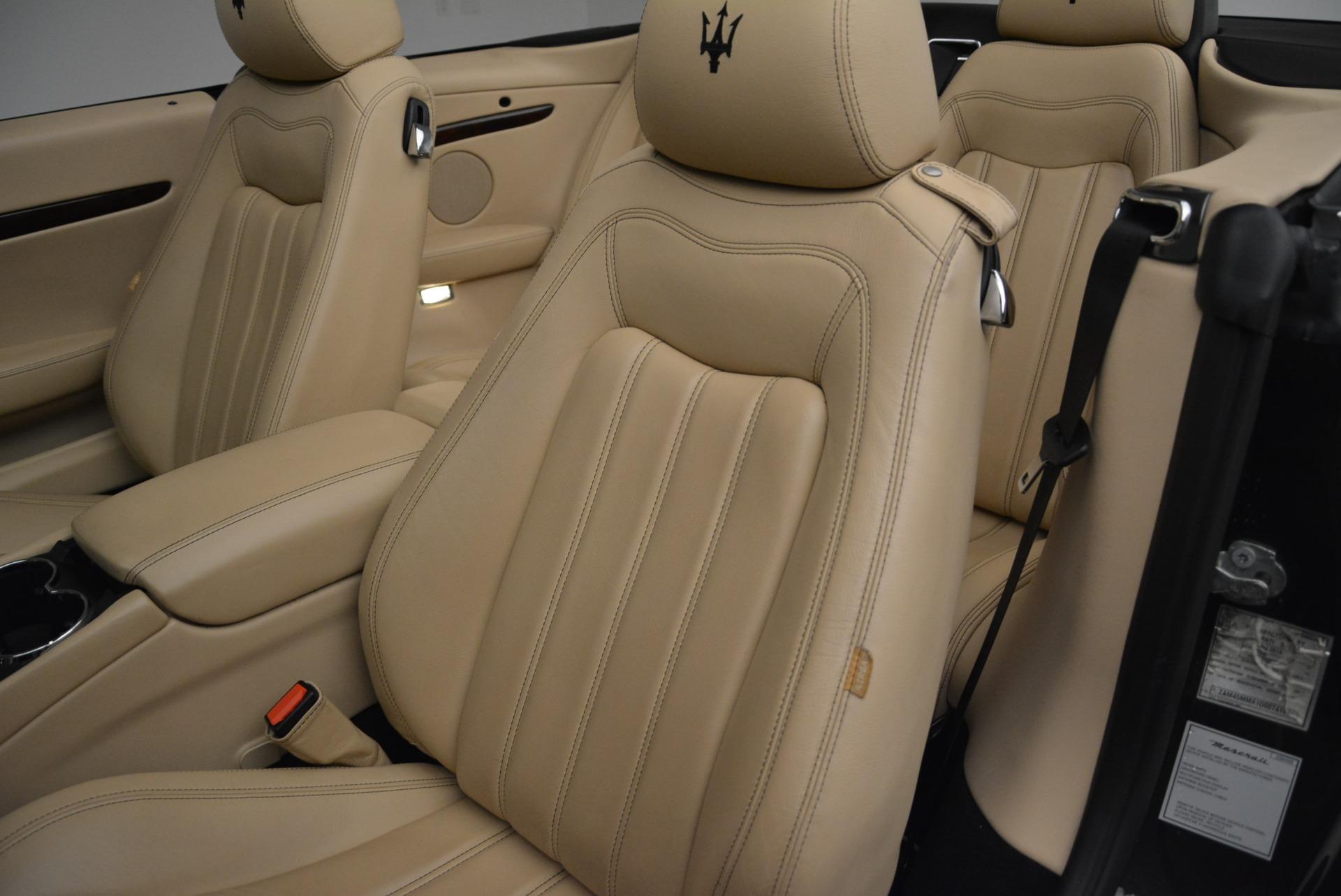 Used 2013 Maserati GranTurismo Convertible  For Sale In Greenwich, CT 2050_p27