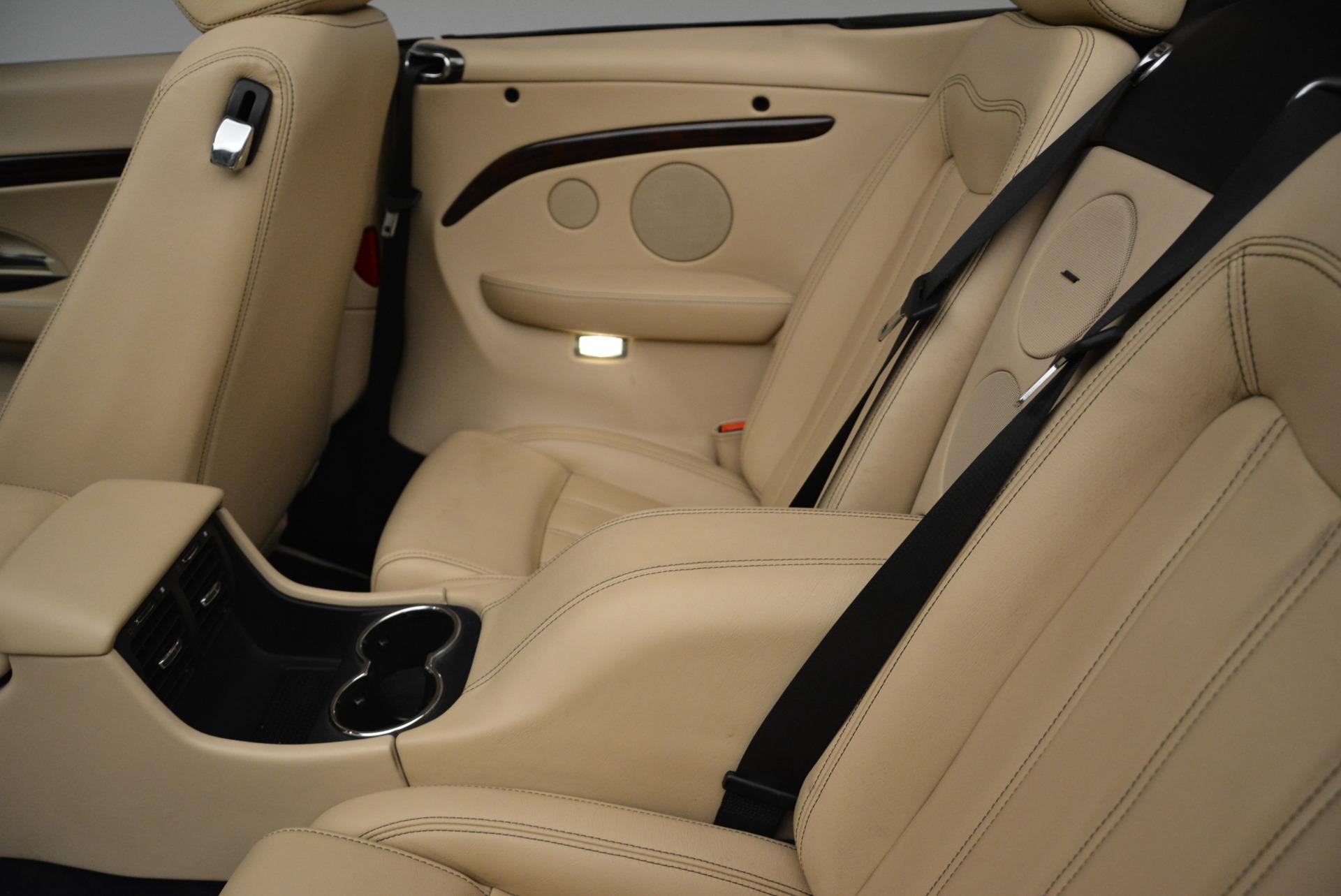 Used 2013 Maserati GranTurismo Convertible  For Sale In Greenwich, CT 2050_p30