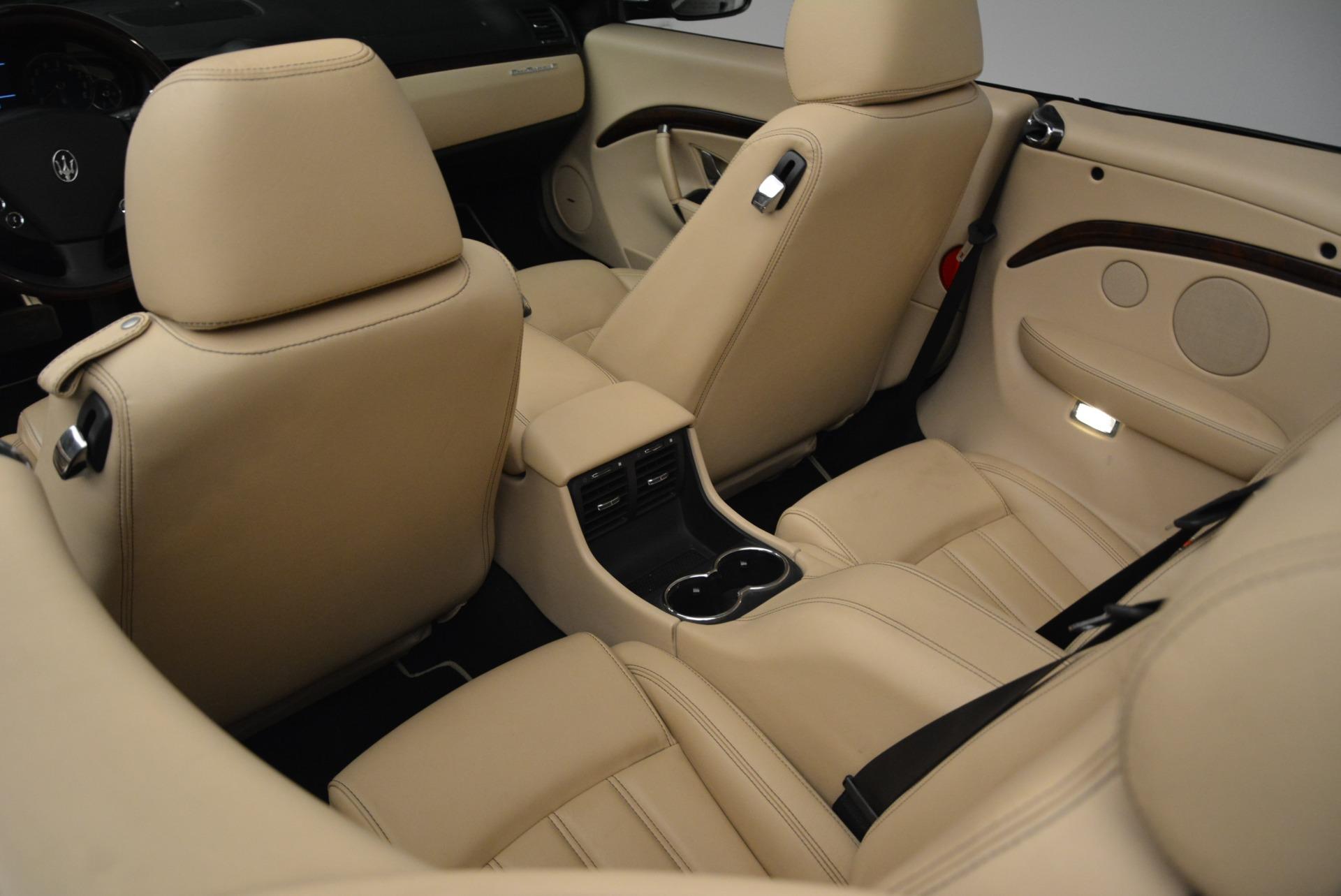 Used 2013 Maserati GranTurismo Convertible  For Sale In Greenwich, CT 2050_p31