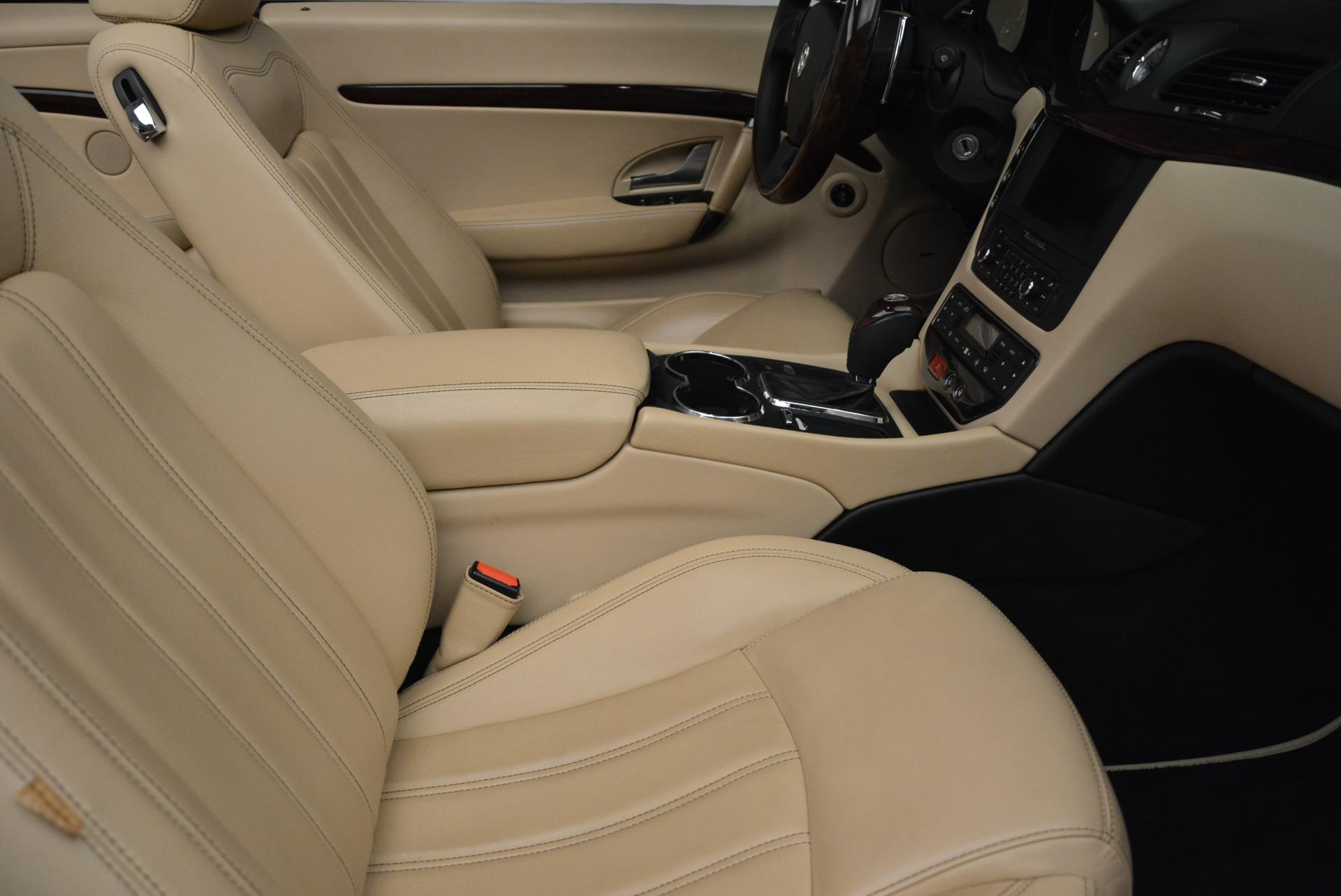 Used 2013 Maserati GranTurismo Convertible  For Sale In Greenwich, CT 2050_p33