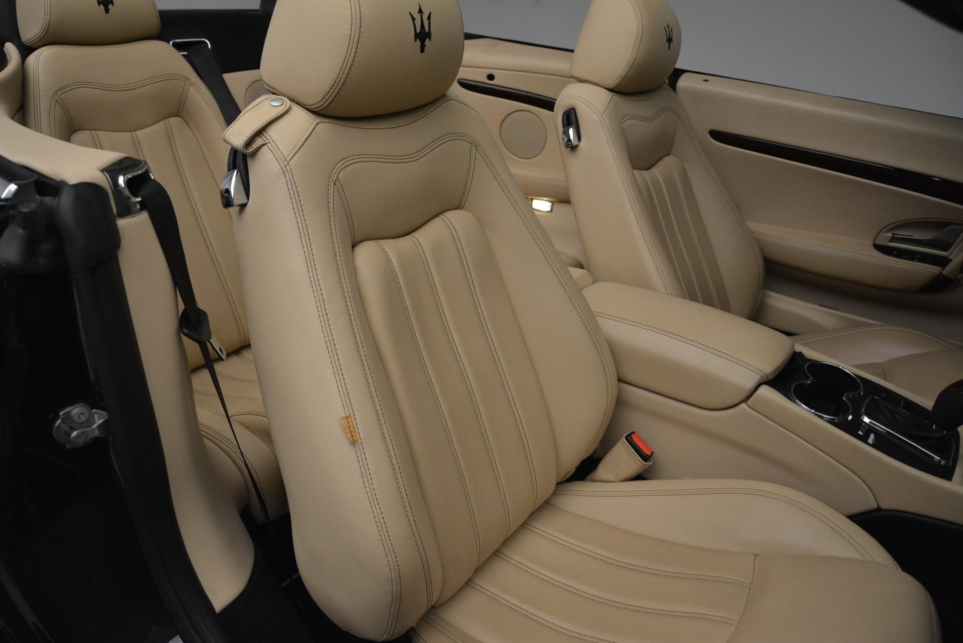 Used 2013 Maserati GranTurismo Convertible  For Sale In Greenwich, CT 2050_p34