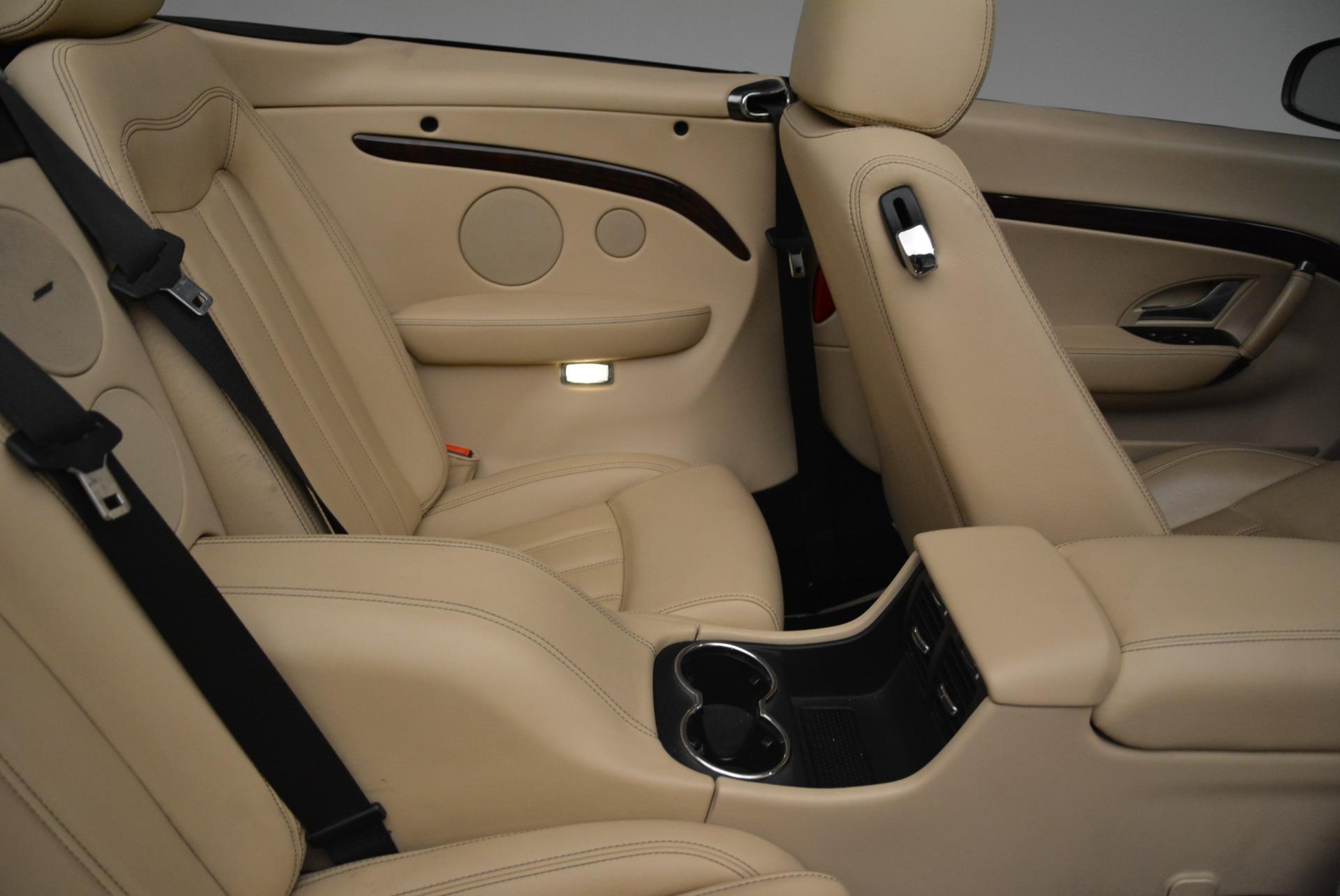 Used 2013 Maserati GranTurismo Convertible  For Sale In Greenwich, CT 2050_p36