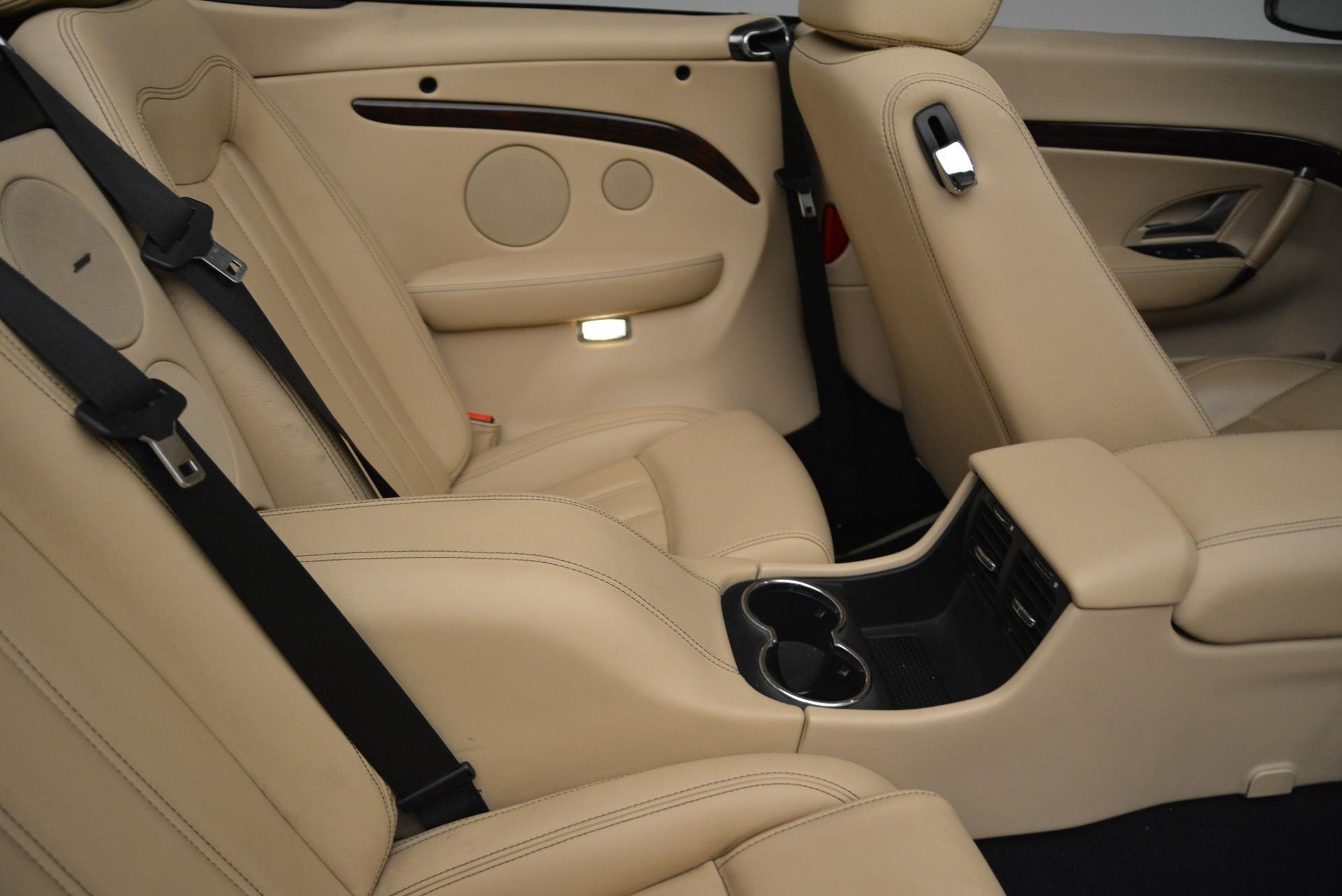 Used 2013 Maserati GranTurismo Convertible  For Sale In Greenwich, CT 2050_p37