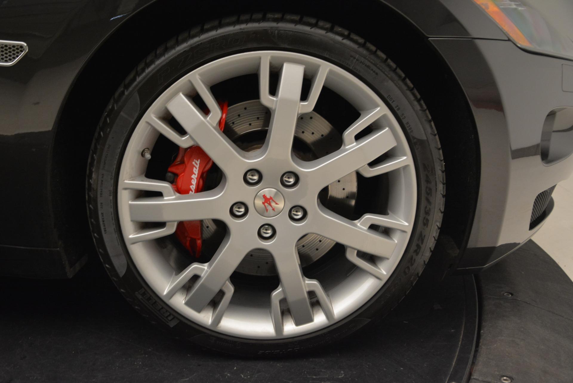 Used 2013 Maserati GranTurismo Convertible  For Sale In Greenwich, CT 2050_p39