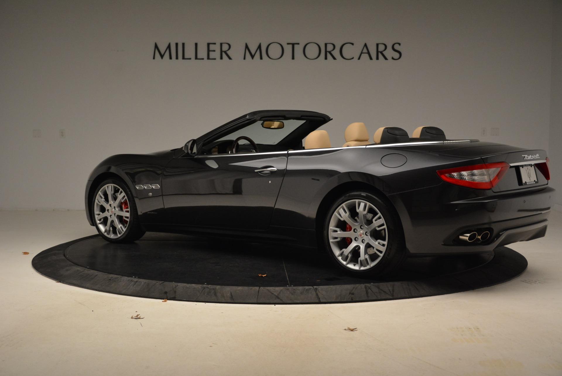 Used 2013 Maserati GranTurismo Convertible  For Sale In Greenwich, CT 2050_p4