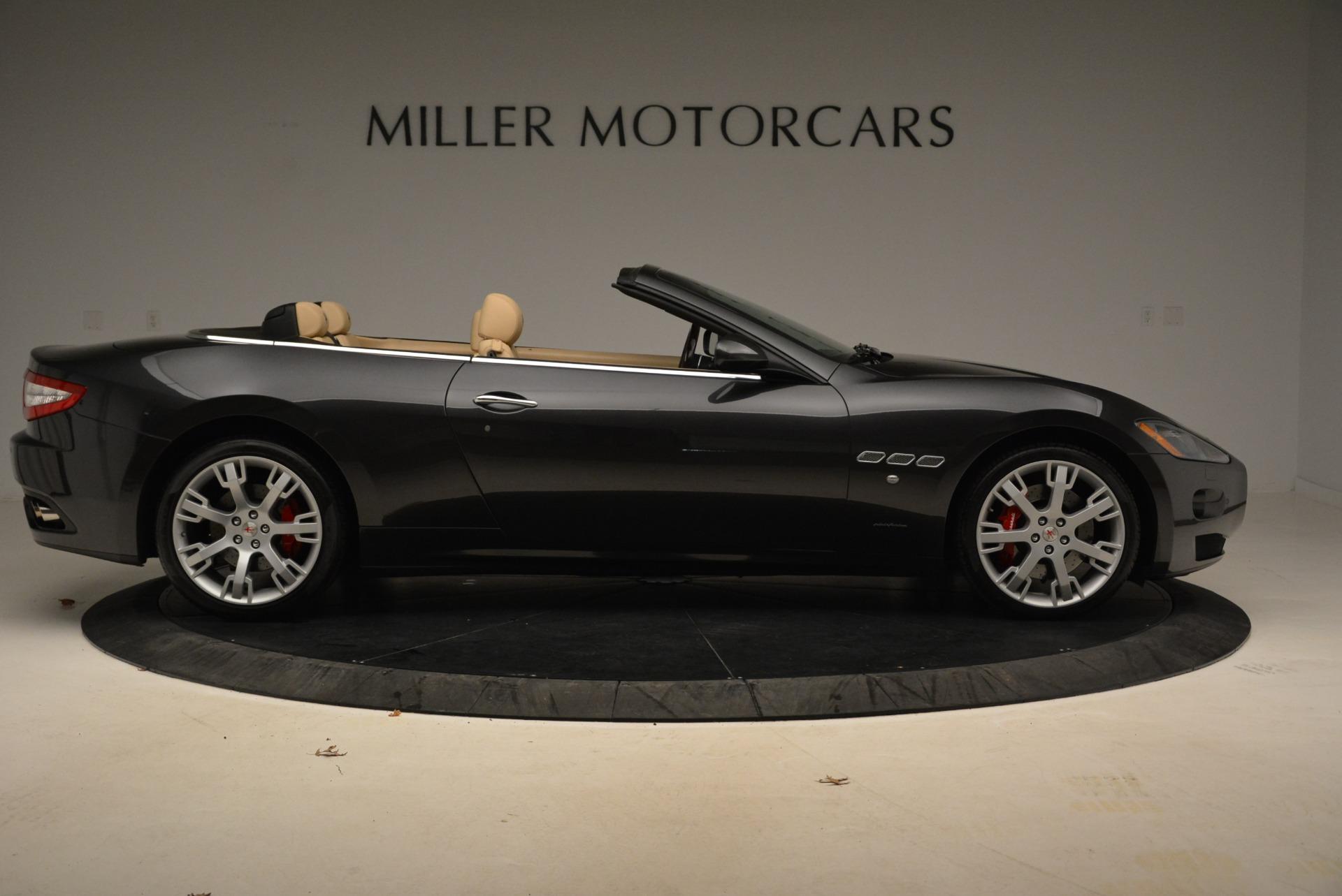 Used 2013 Maserati GranTurismo Convertible  For Sale In Greenwich, CT 2050_p9