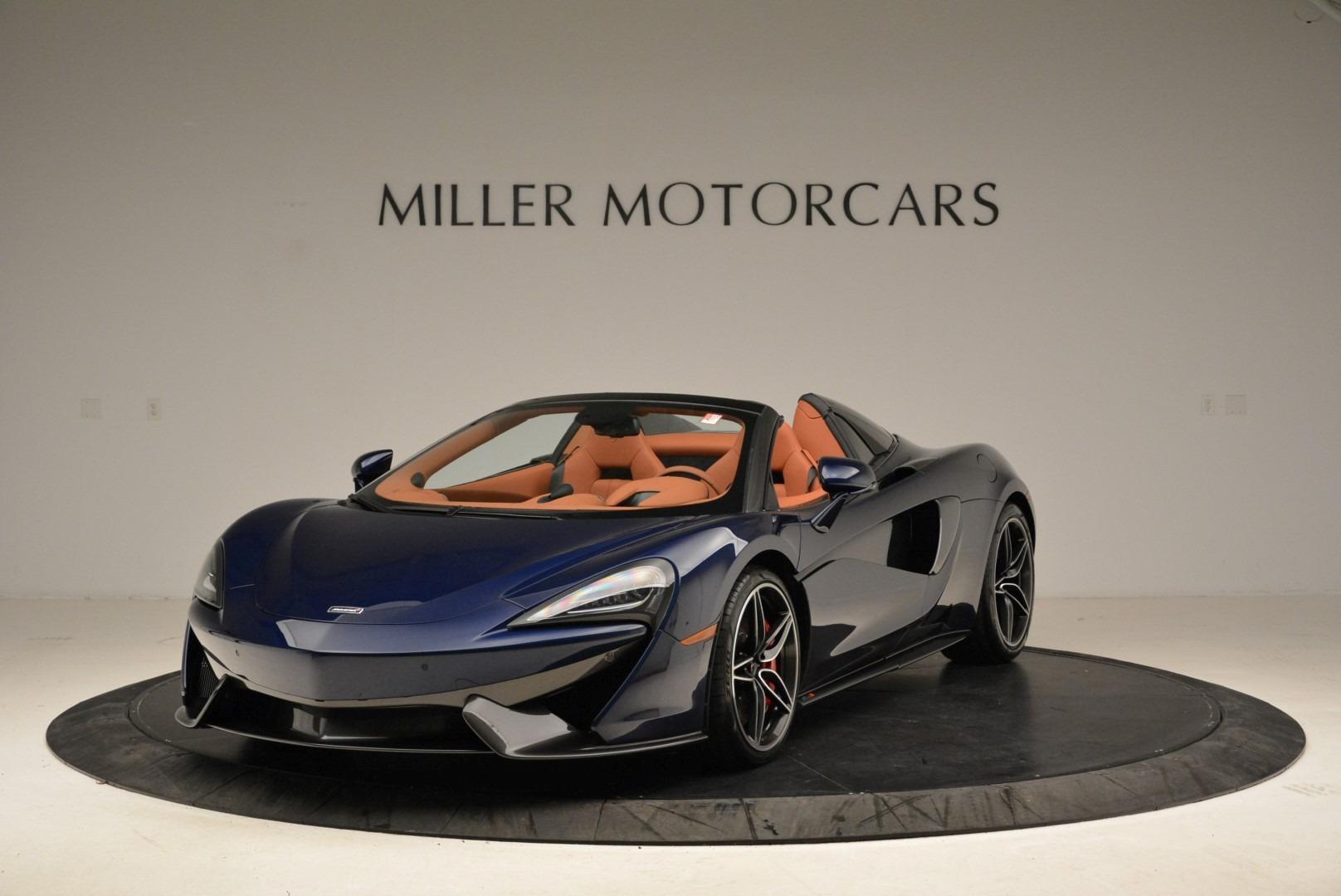 New 2018 McLaren 570S Spider For Sale In Greenwich, CT 2053_main