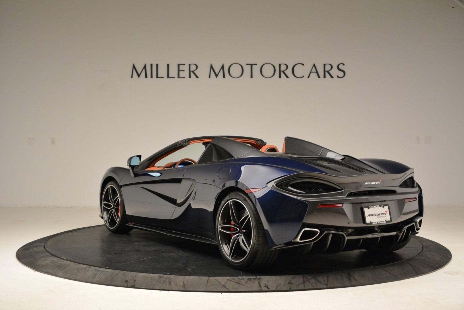 New 2018 McLaren 570S Spider For Sale In Greenwich, CT 2053_p4