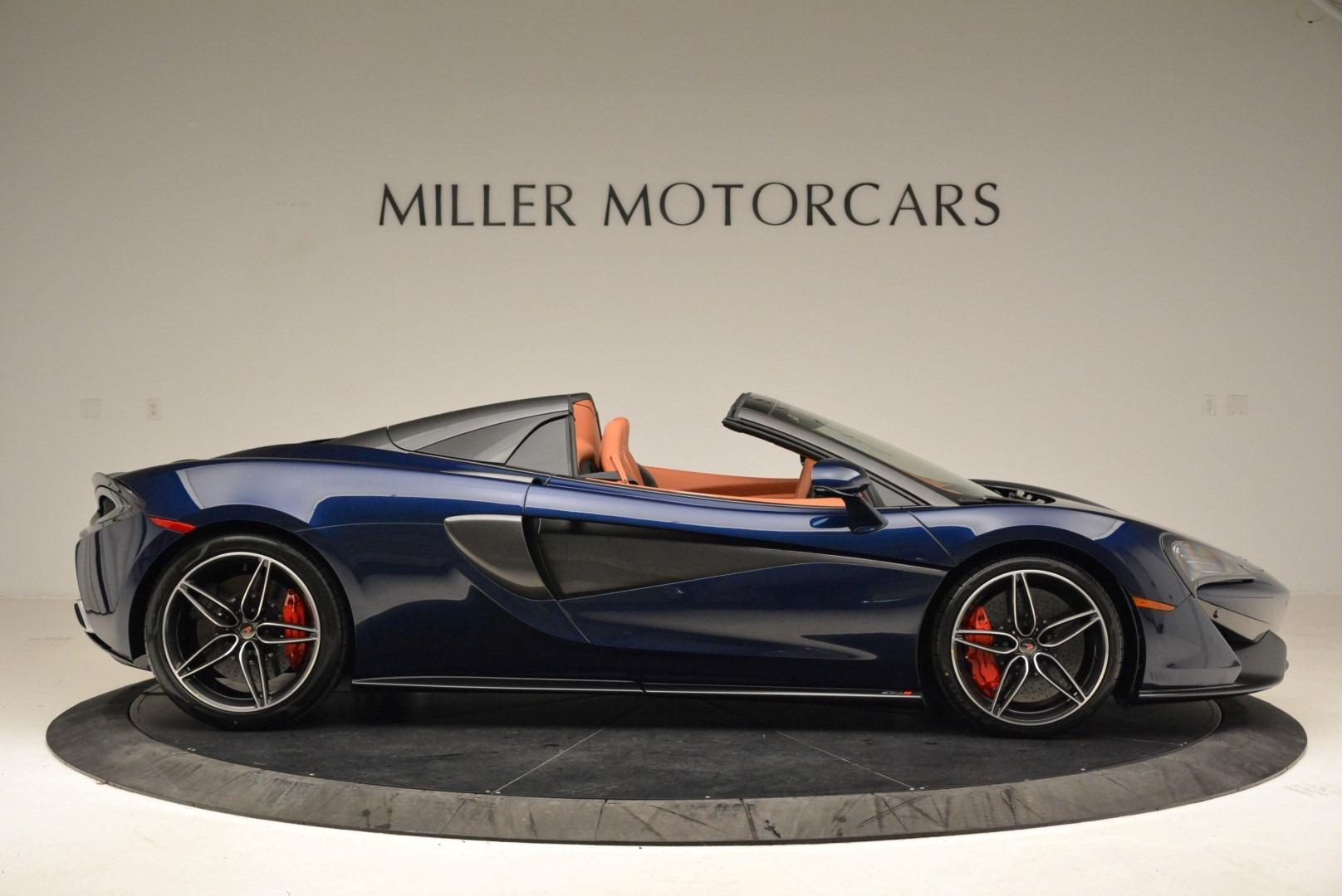 New 2018 McLaren 570S Spider For Sale In Greenwich, CT 2053_p9