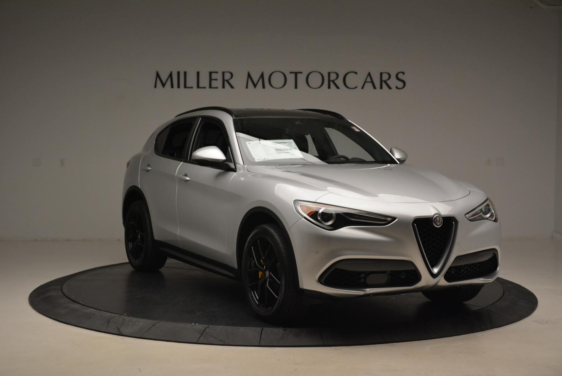 New 2018 Alfa Romeo Stelvio Ti Sport Q4 For Sale In Greenwich, CT 2058_p11