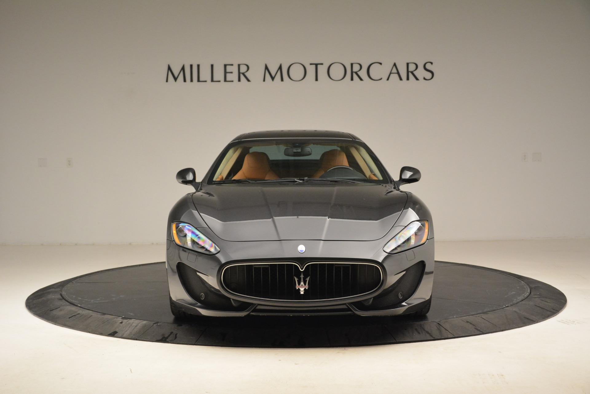 Used 2014 Maserati GranTurismo Sport For Sale In Greenwich, CT 2067_p11
