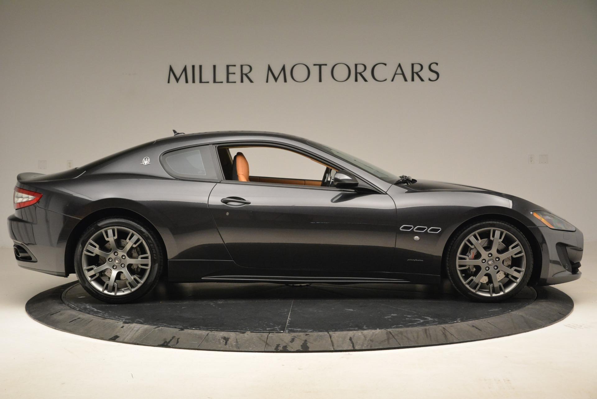 Used 2014 Maserati GranTurismo Sport For Sale In Greenwich, CT 2067_p8