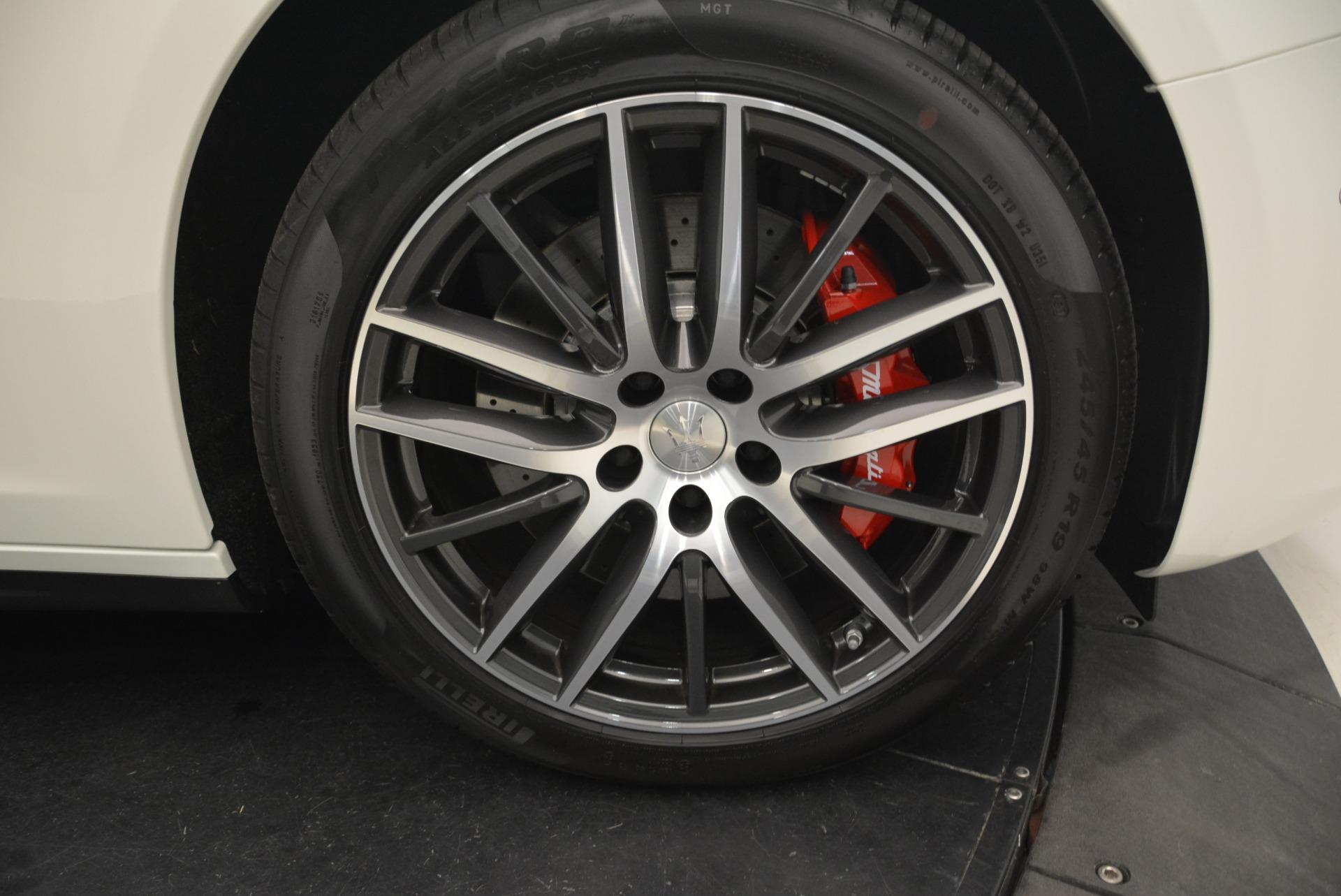 New 2018 Maserati Ghibli S Q4 For Sale In Greenwich, CT 2074_p28