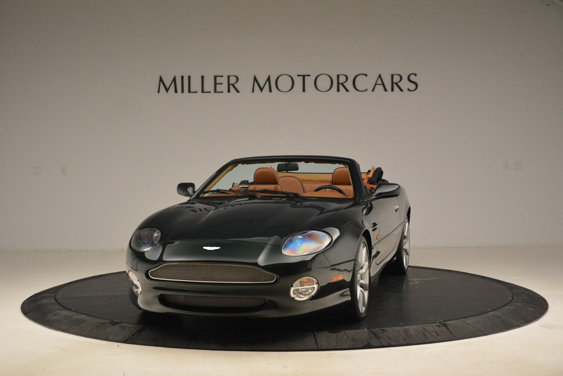Used 2003 Aston Martin DB7 Vantage Volante For Sale In Greenwich, CT 2084_main