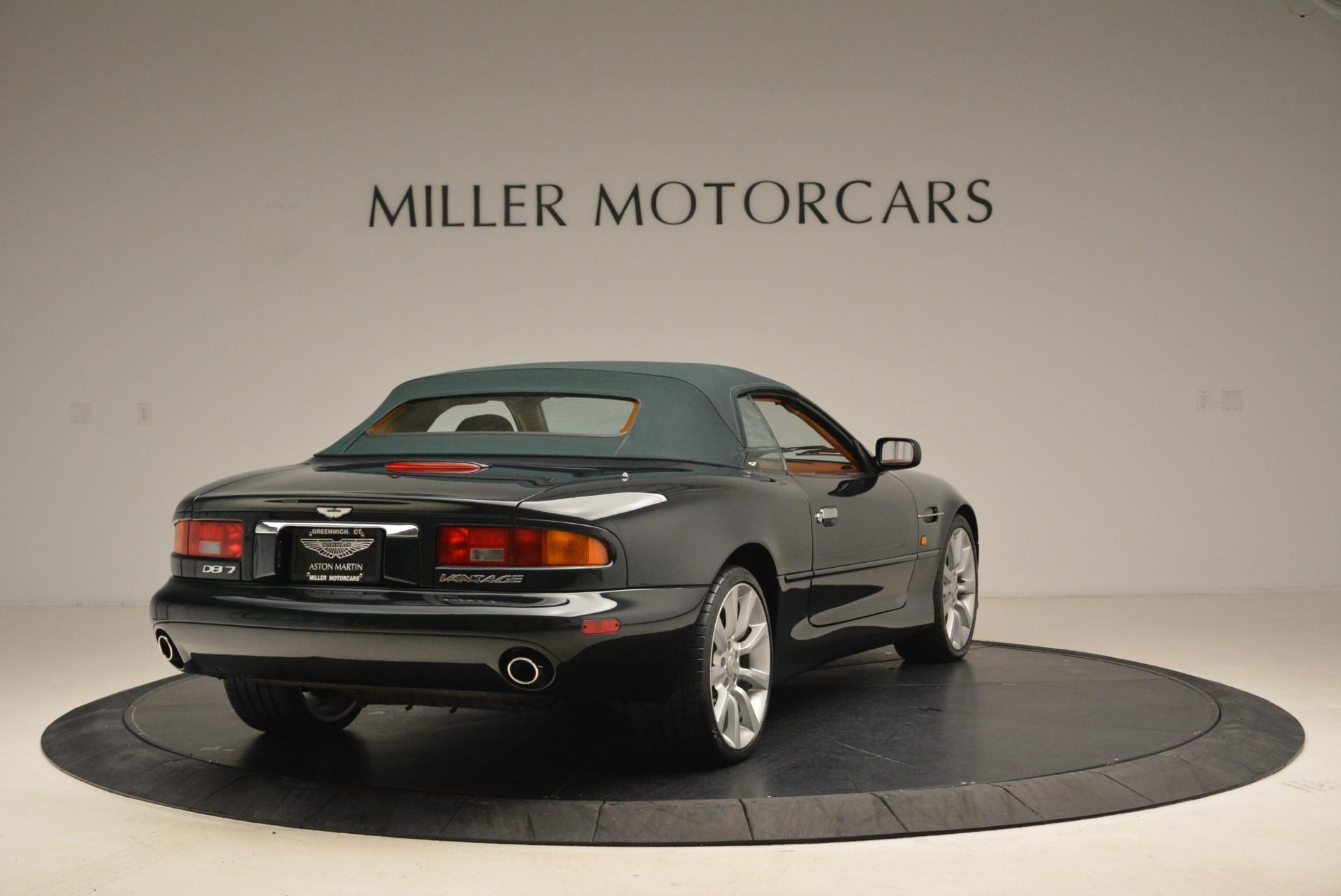 Used 2003 Aston Martin DB7 Vantage Volante For Sale In Greenwich, CT 2084_p19