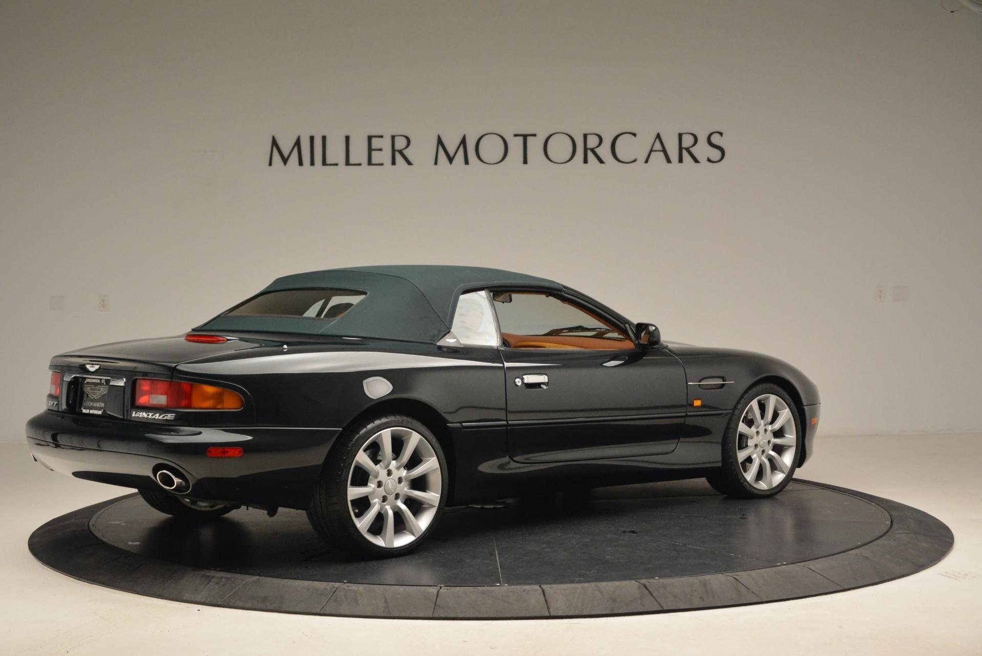 Used 2003 Aston Martin DB7 Vantage Volante For Sale In Greenwich, CT 2084_p20