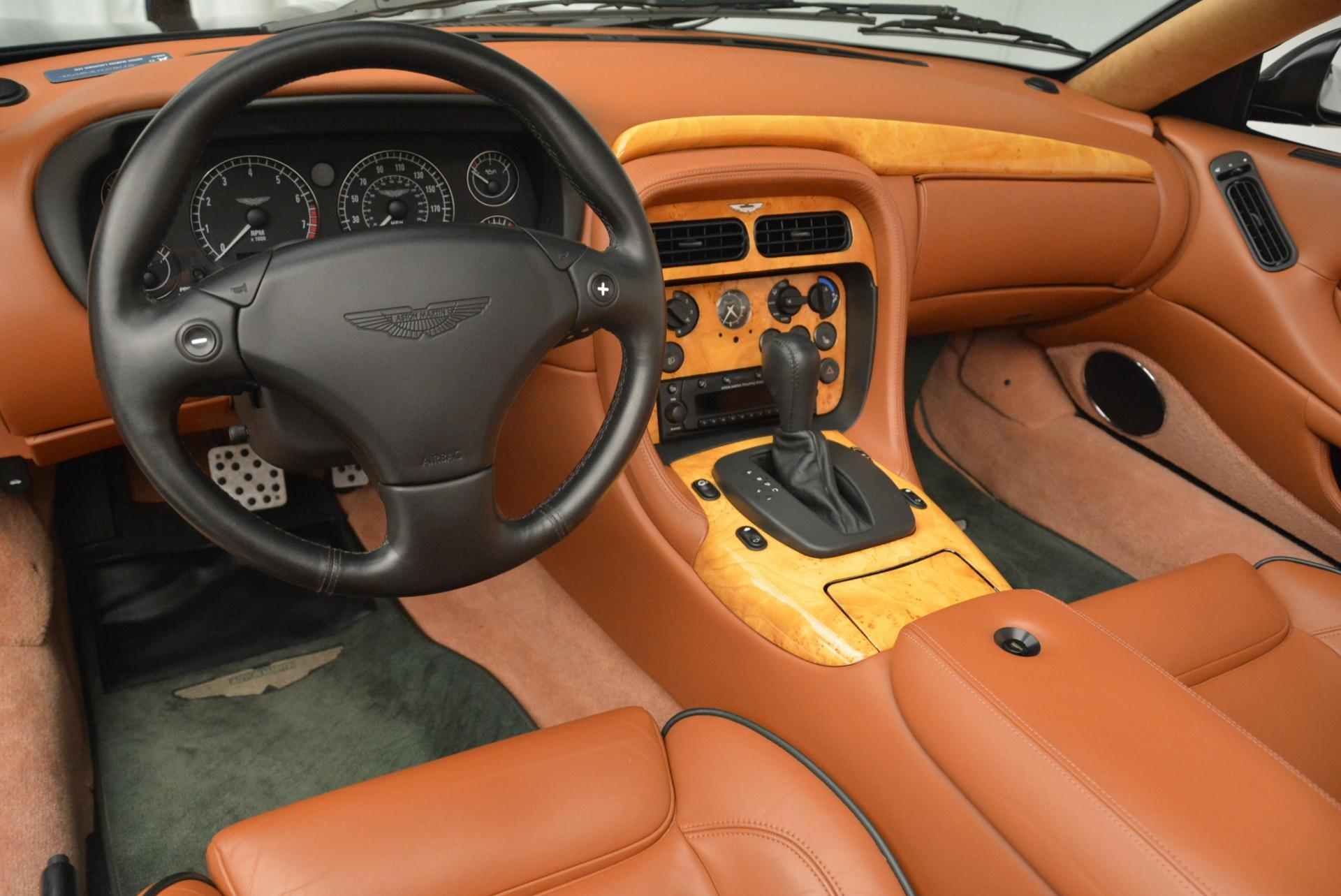 Used 2003 Aston Martin DB7 Vantage Volante For Sale In Greenwich, CT 2084_p24