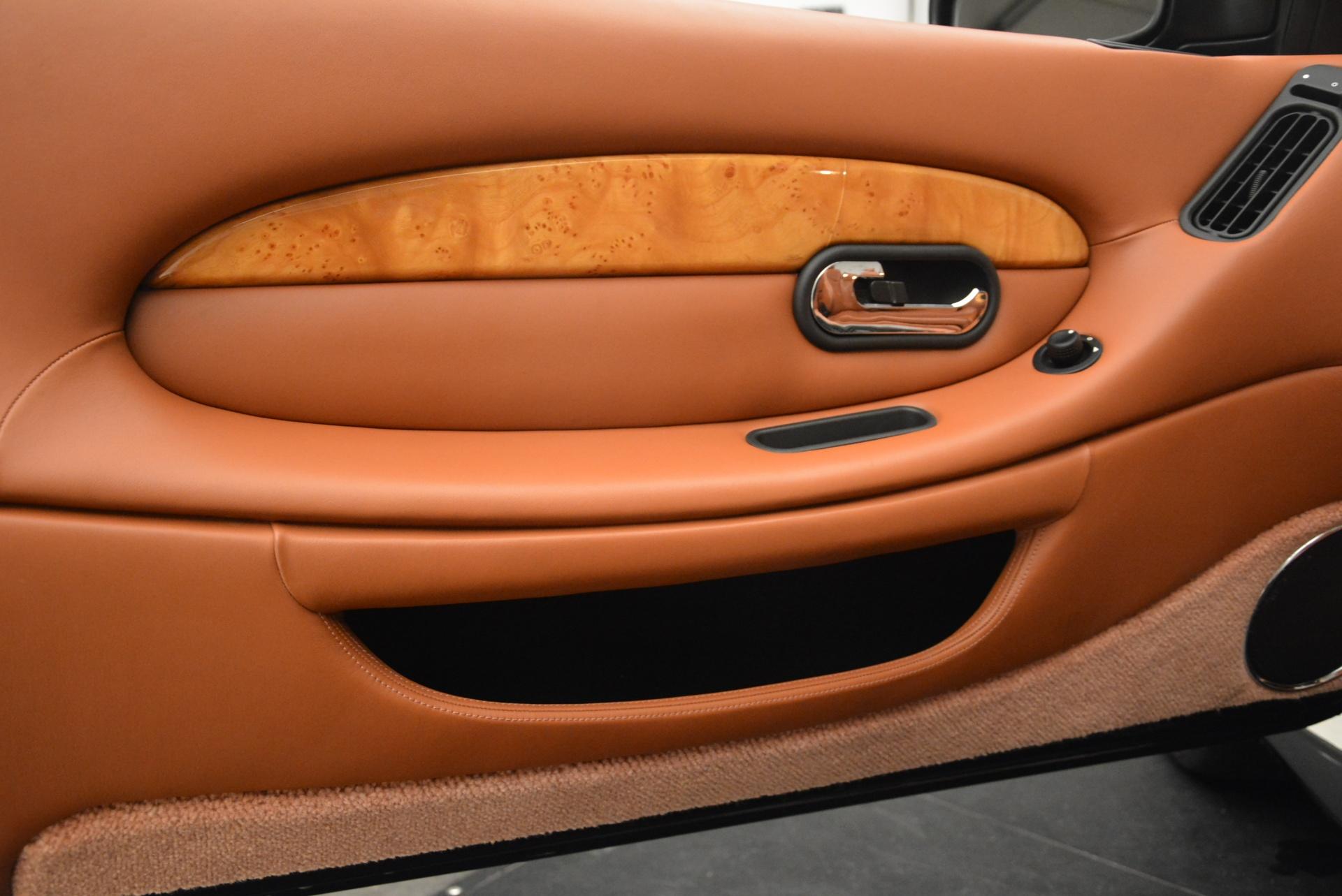 Used 2003 Aston Martin DB7 Vantage Volante For Sale In Greenwich, CT 2084_p25