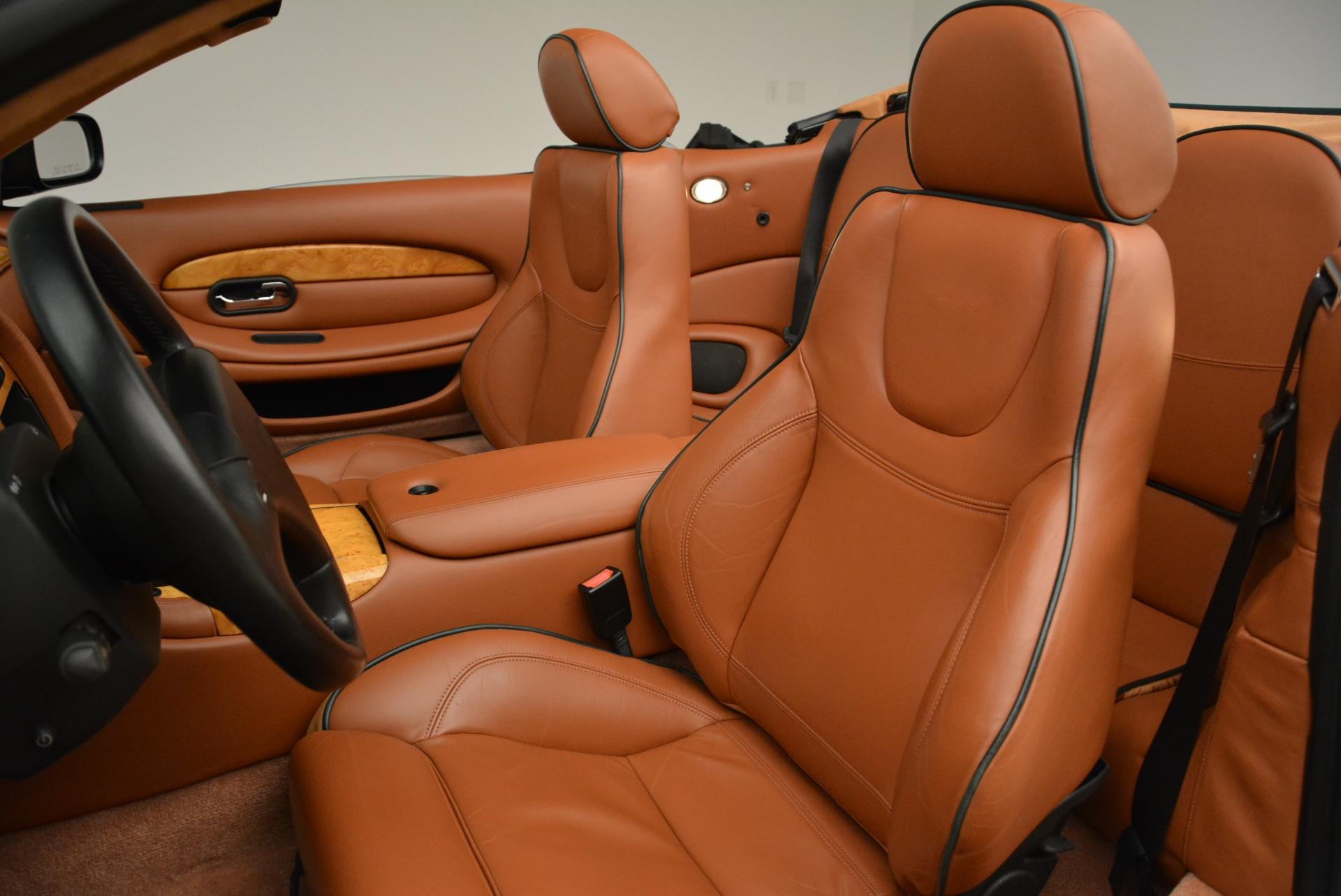 Used 2003 Aston Martin DB7 Vantage Volante For Sale In Greenwich, CT 2084_p26