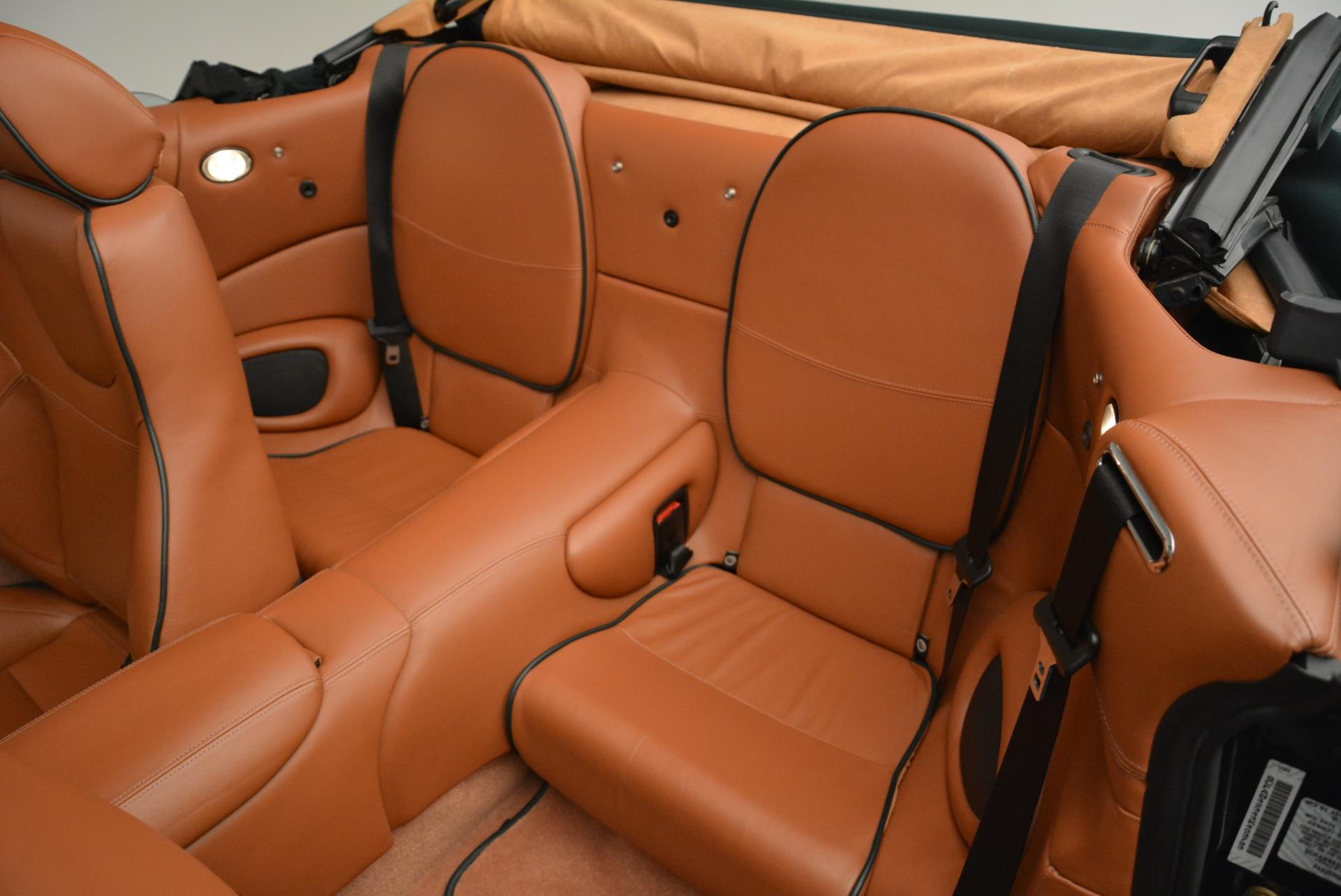 Used 2003 Aston Martin DB7 Vantage Volante For Sale In Greenwich, CT 2084_p27