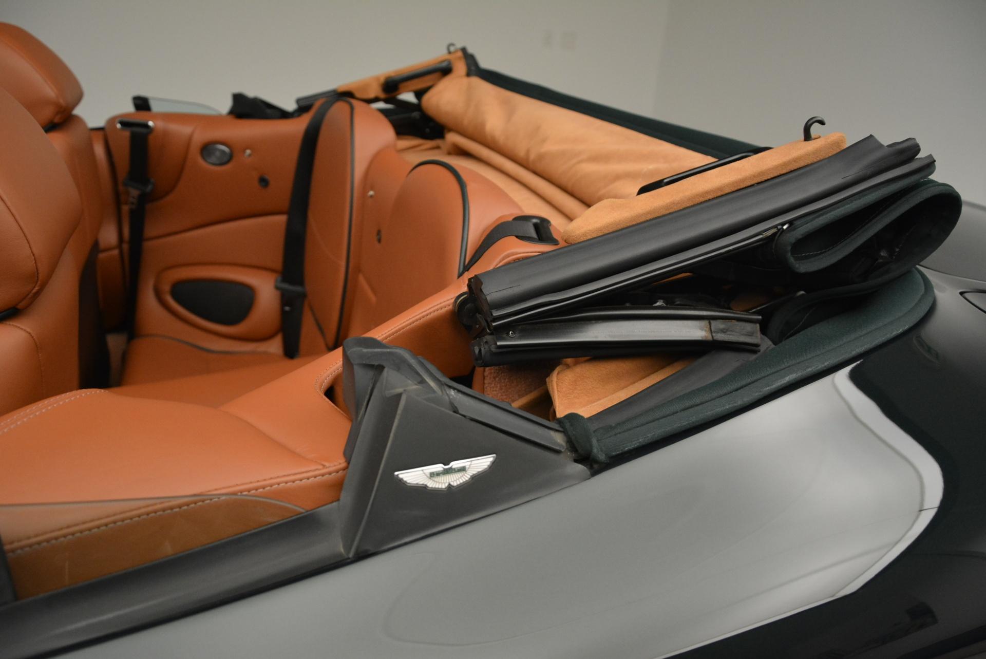Used 2003 Aston Martin DB7 Vantage Volante For Sale In Greenwich, CT 2084_p28
